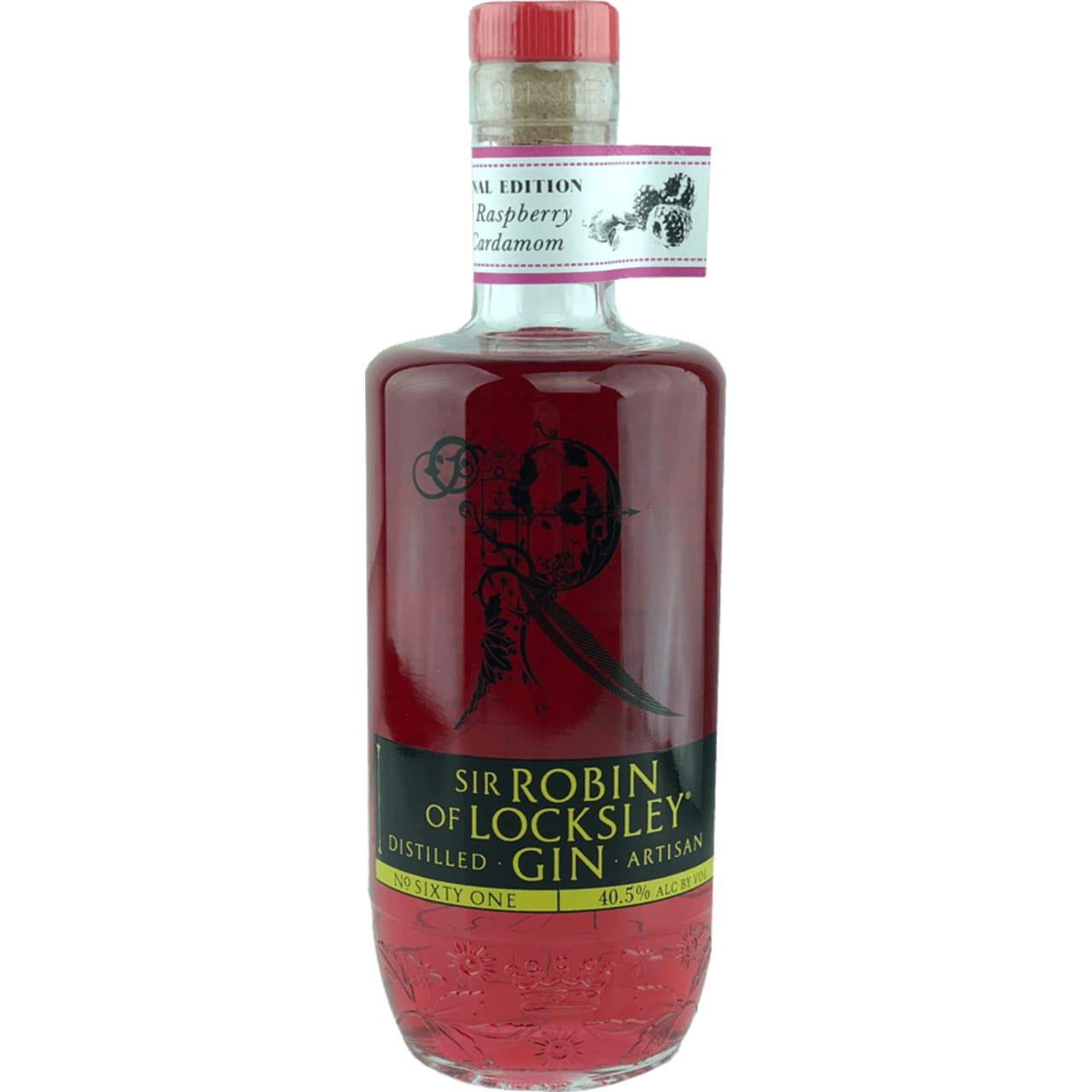 Product Image - Sir Robin of Locksley Real Raspberry & Cardamom Gin