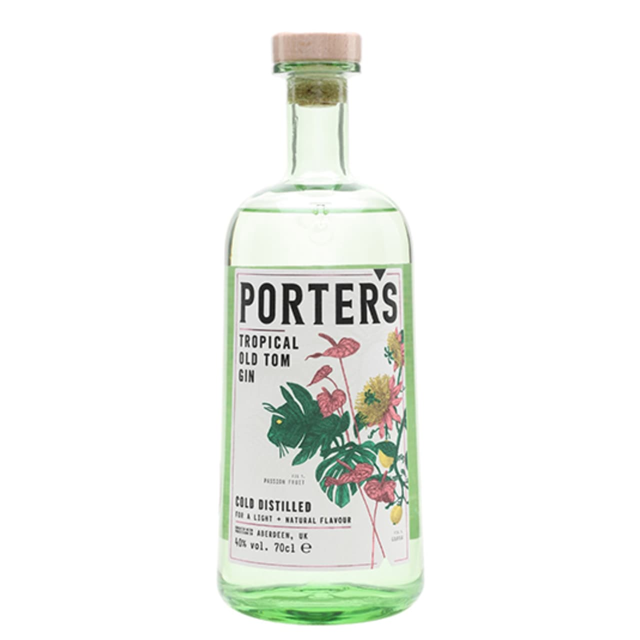 Product Image - Porter's Tropical Old Tom Gin