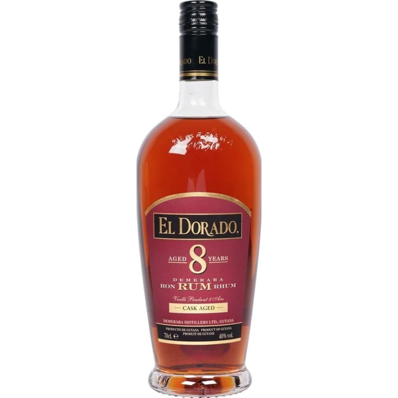 Product Image - El Dorado 8yo Rum