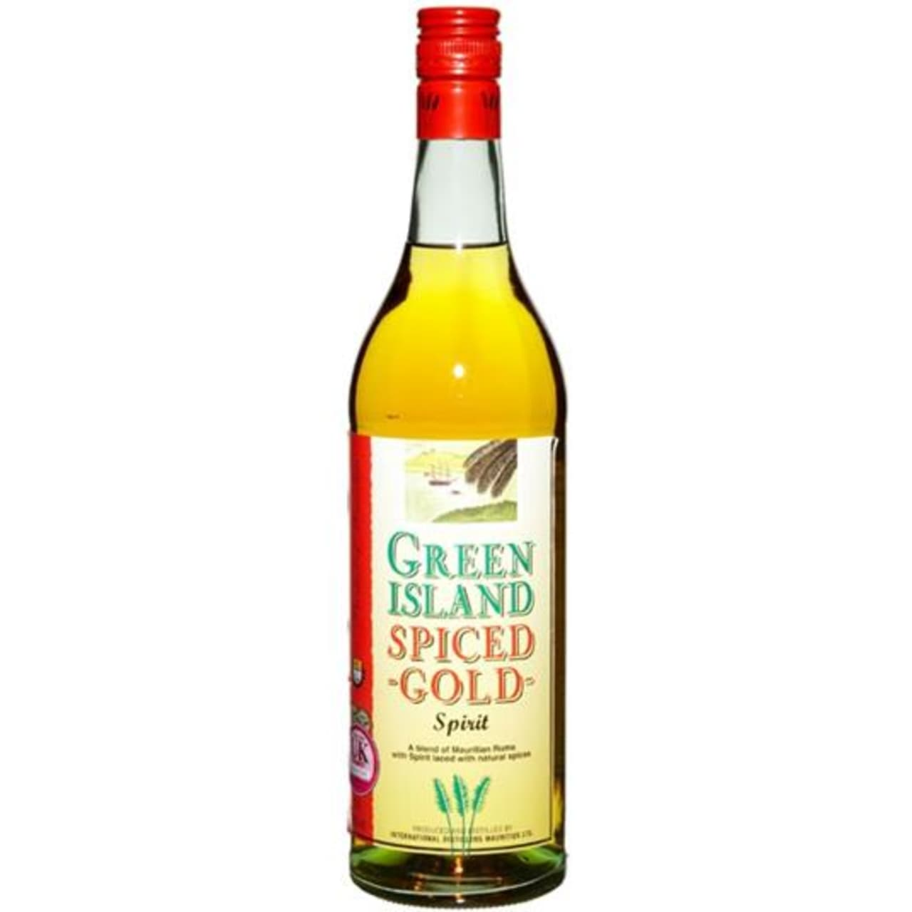 Product Image - Green Island Spiced Gold Rum