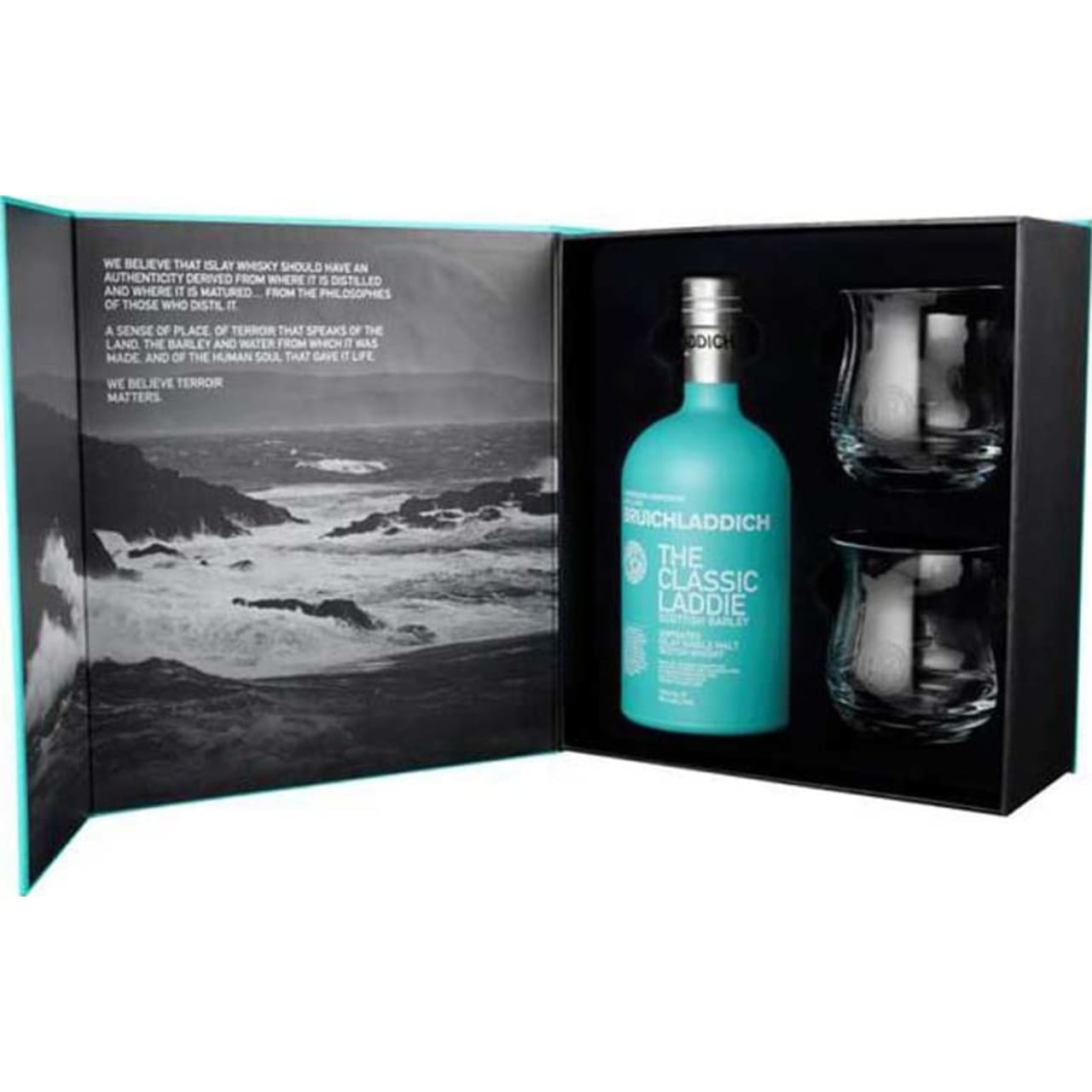 Product Image - Buichladdich The Classic Laddie Glass Gift Pack
