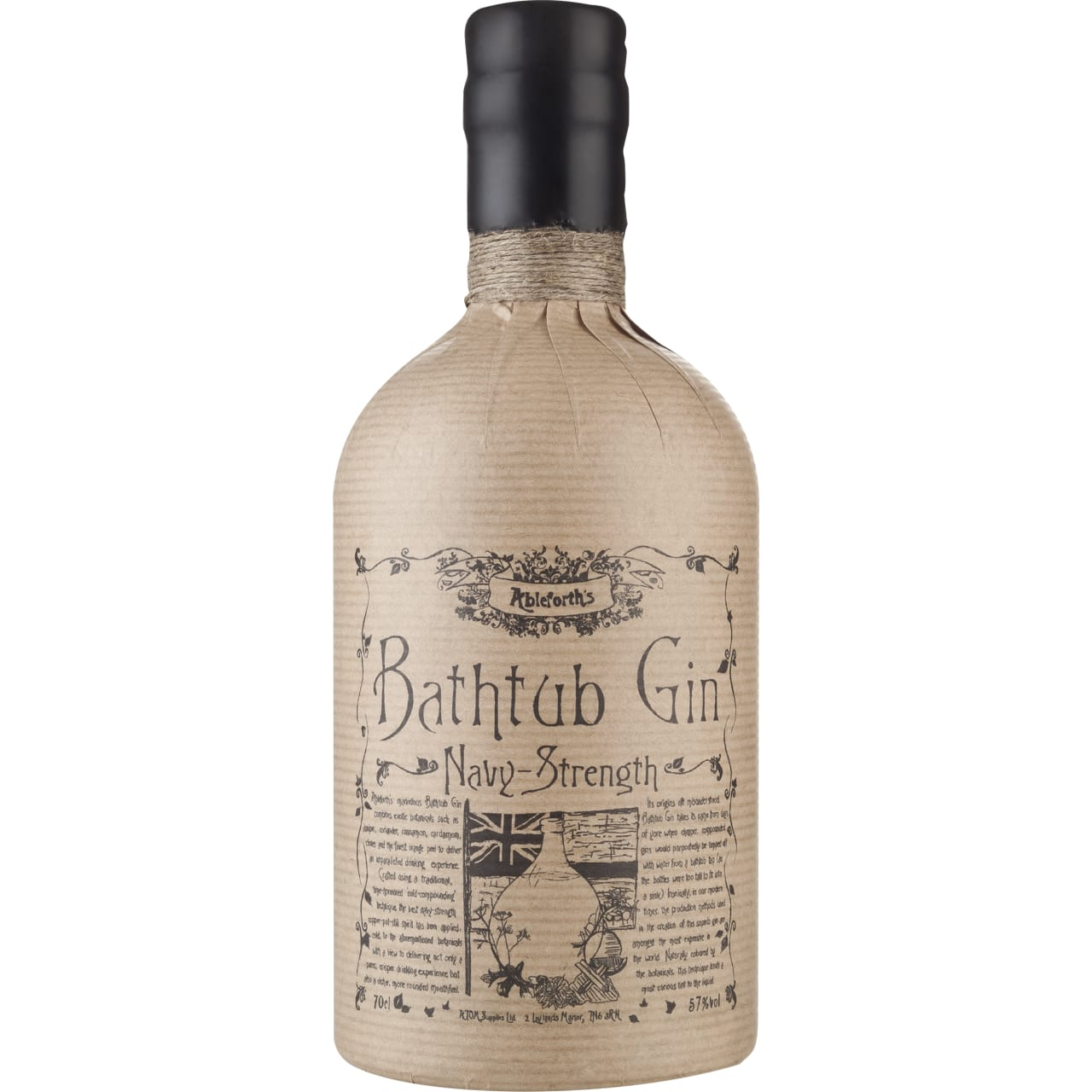 Product Image - Bathtub Navy Strength Gin