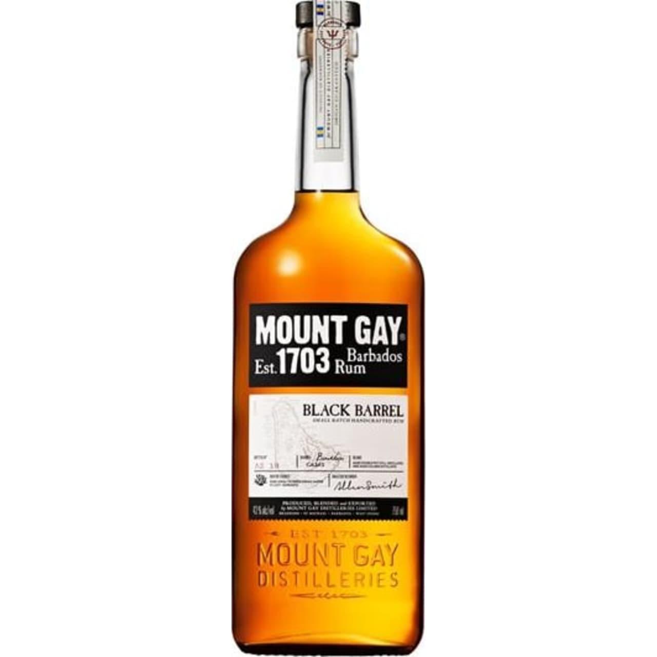 Product Image - Mount Gay Black Barrel Rum