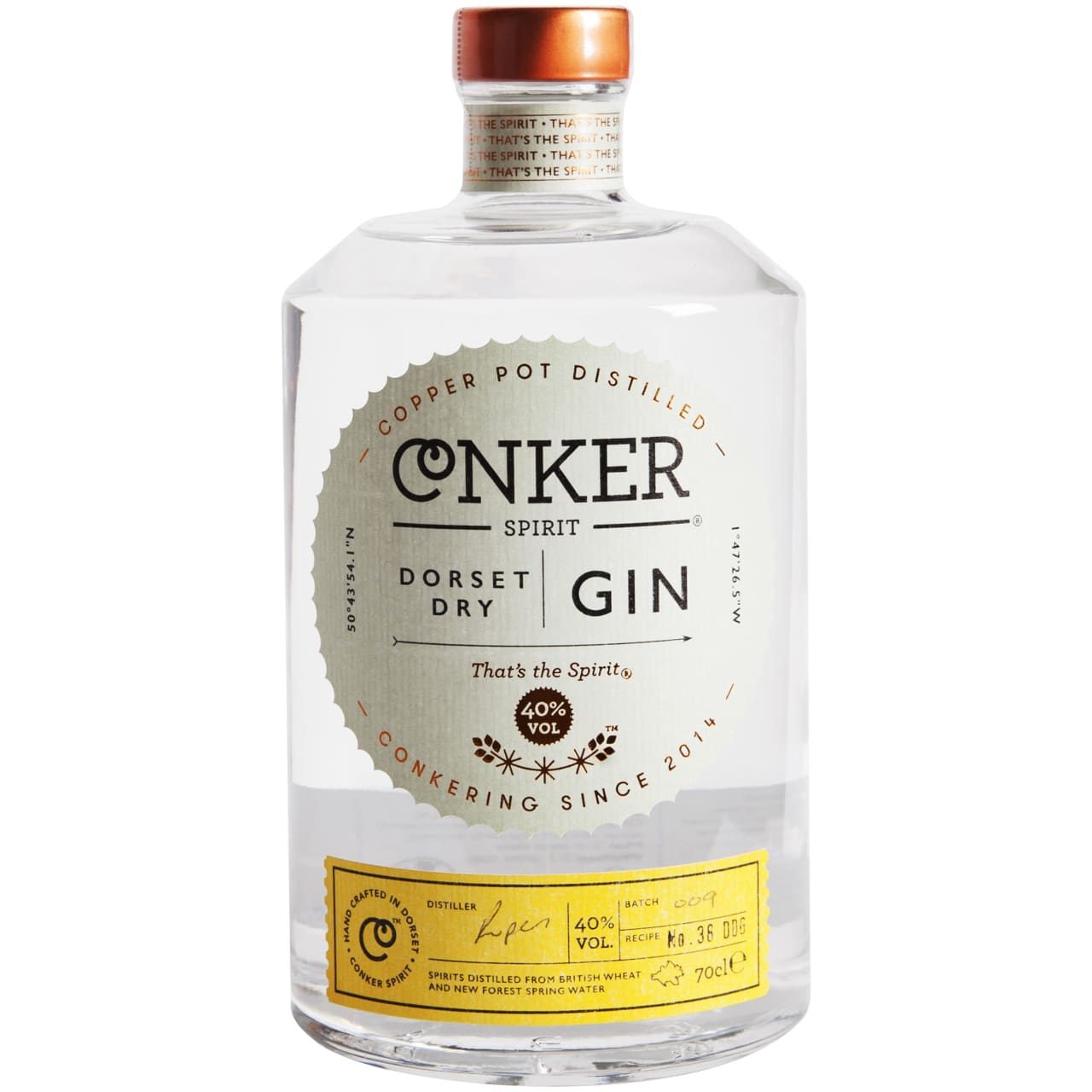 Product Image - Conker Dorset Dry Gin