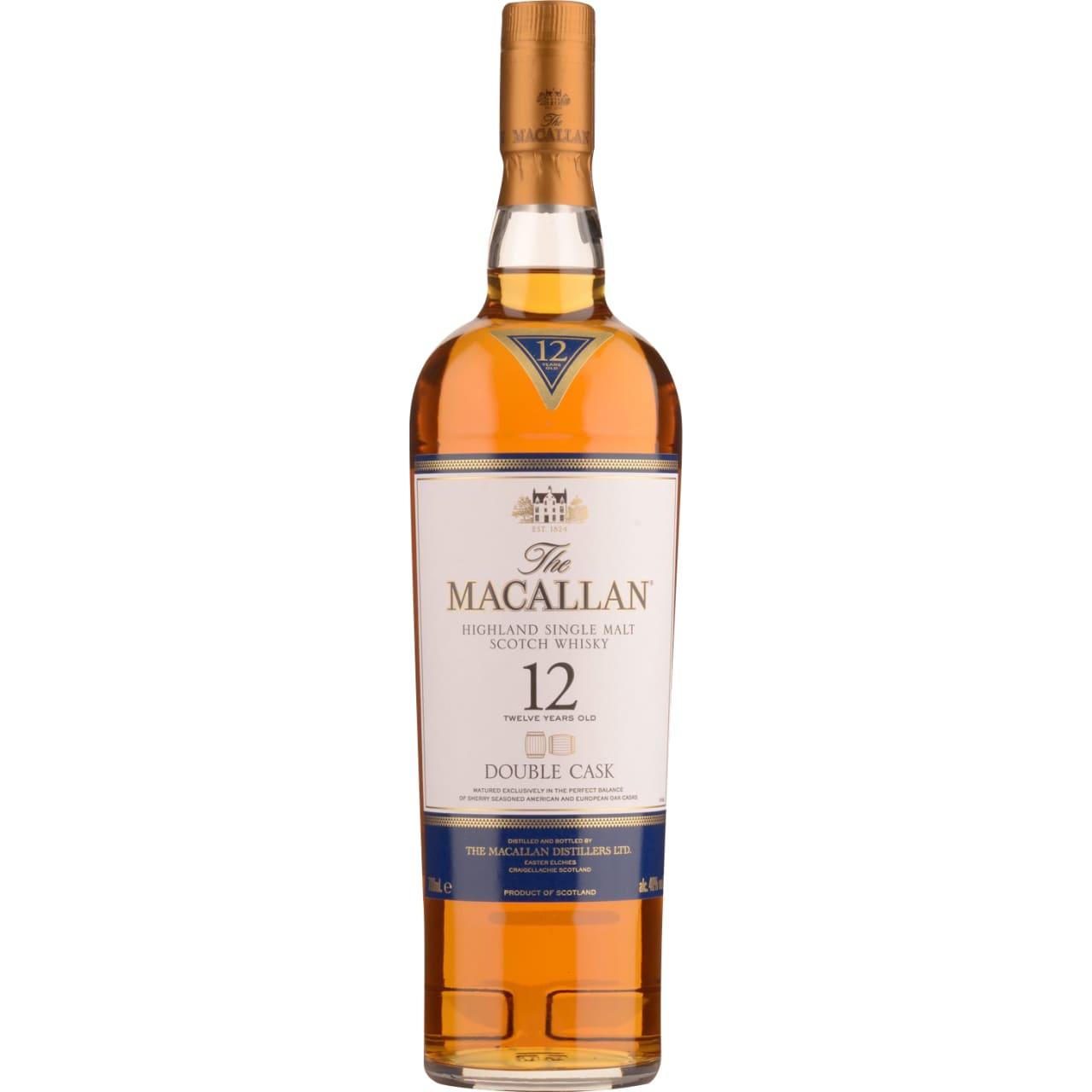 Product Image - The Macallan 12yo Double Cask Single Malt