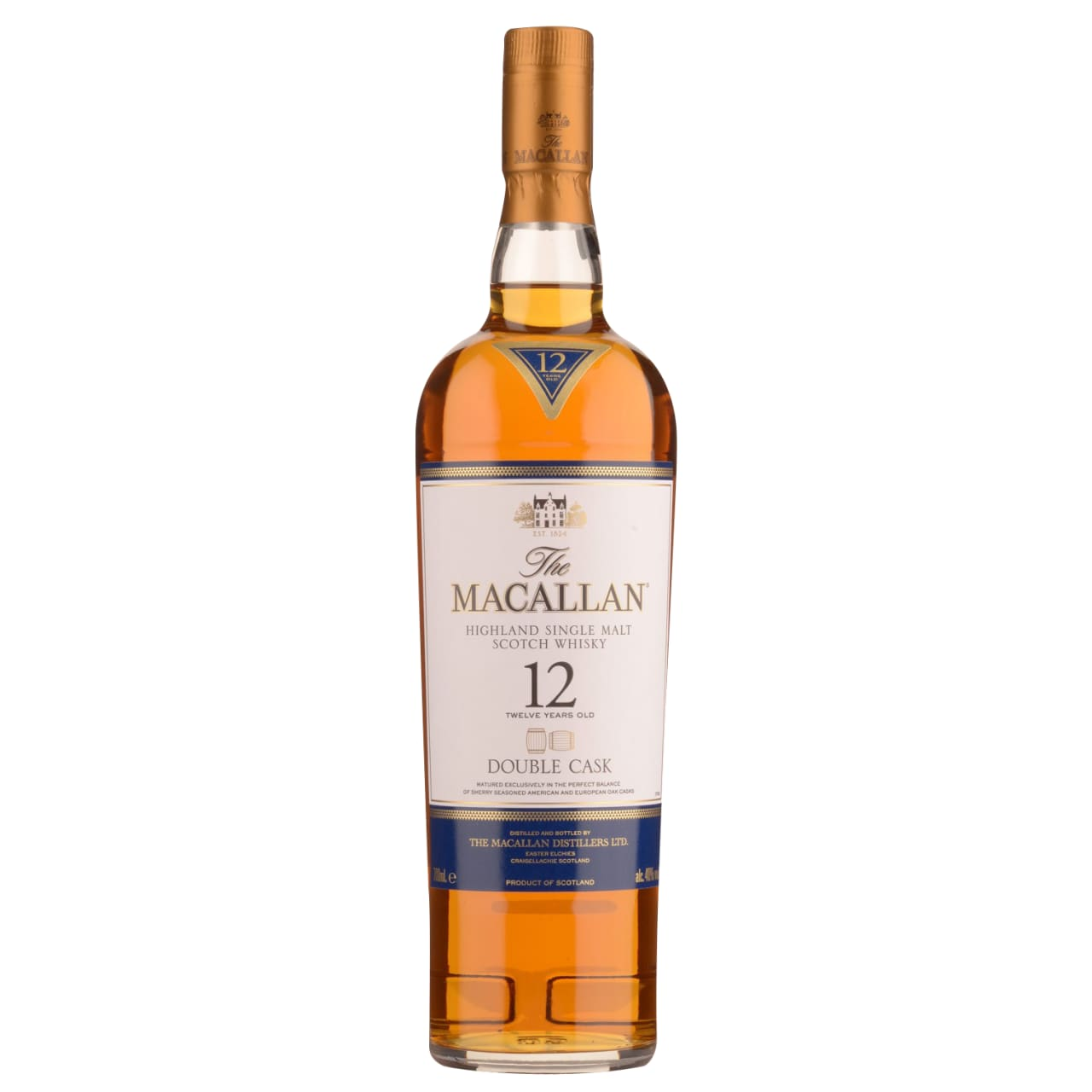 Product Image - The Macallan 12yo Double Cask Single Malt