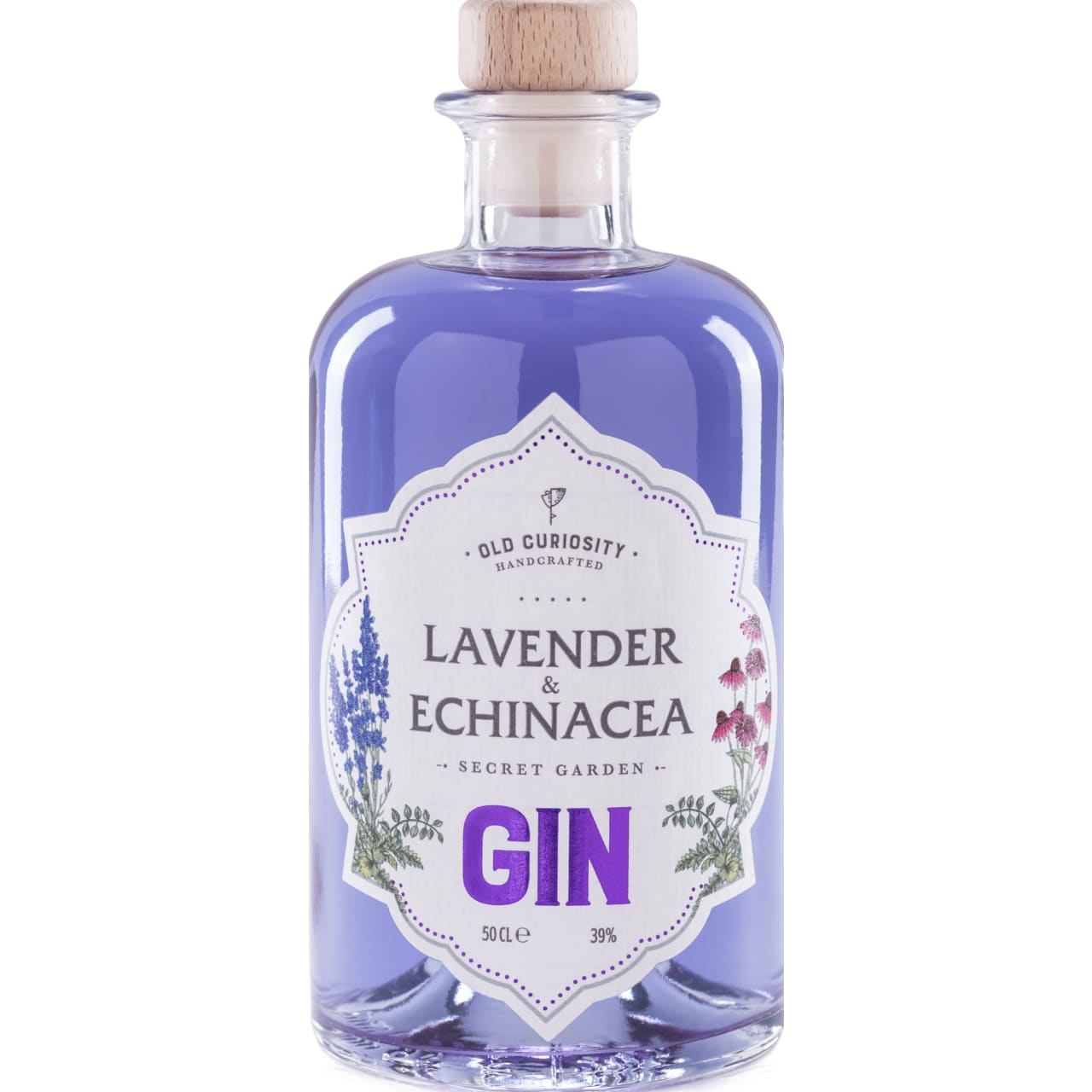 Product Image - Old Curiosity Lavender & Echinacea Gin