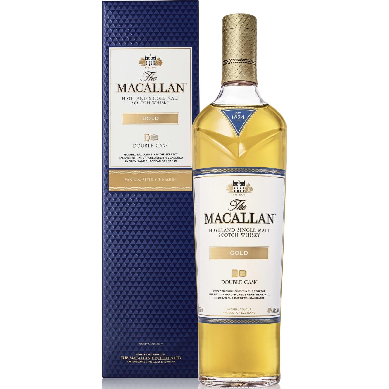 Product Image - The Macallan Gold Double Cask Single Malt