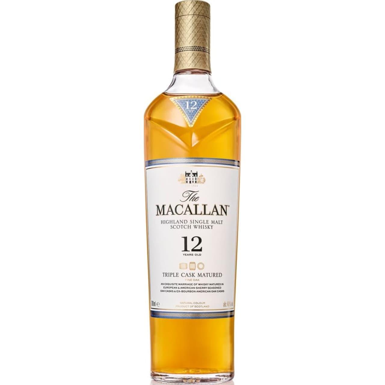 Product Image - The Macallan 12yo Triple Cask Single Malt