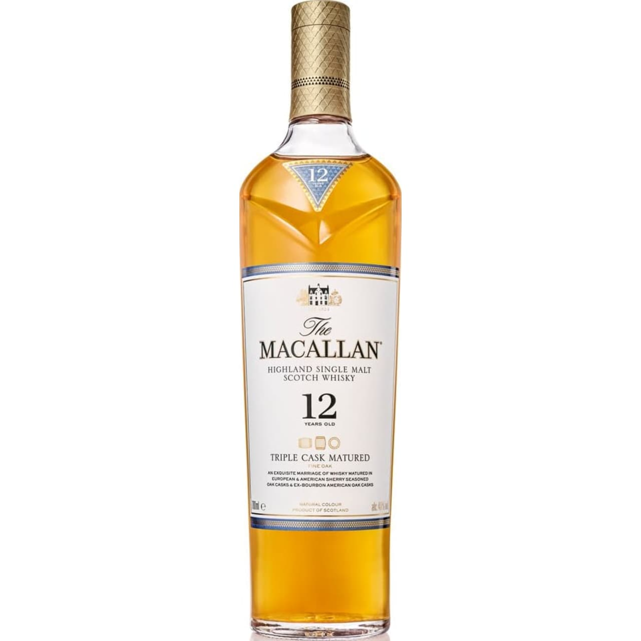 Product Image - The Macallan 12yo Triple Cask Single Malt