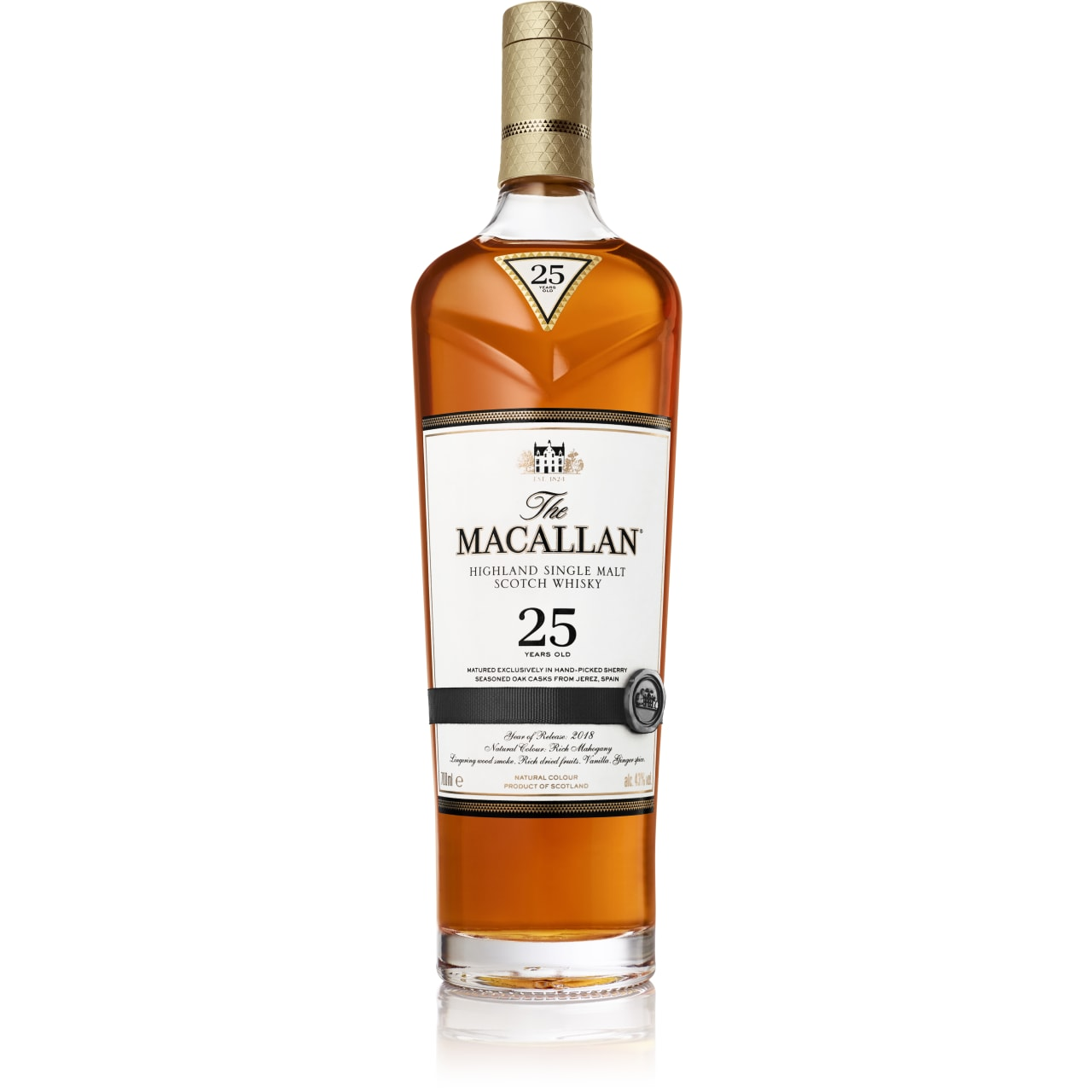 Product Image - The Macallan 25yo Sherry Single Malt