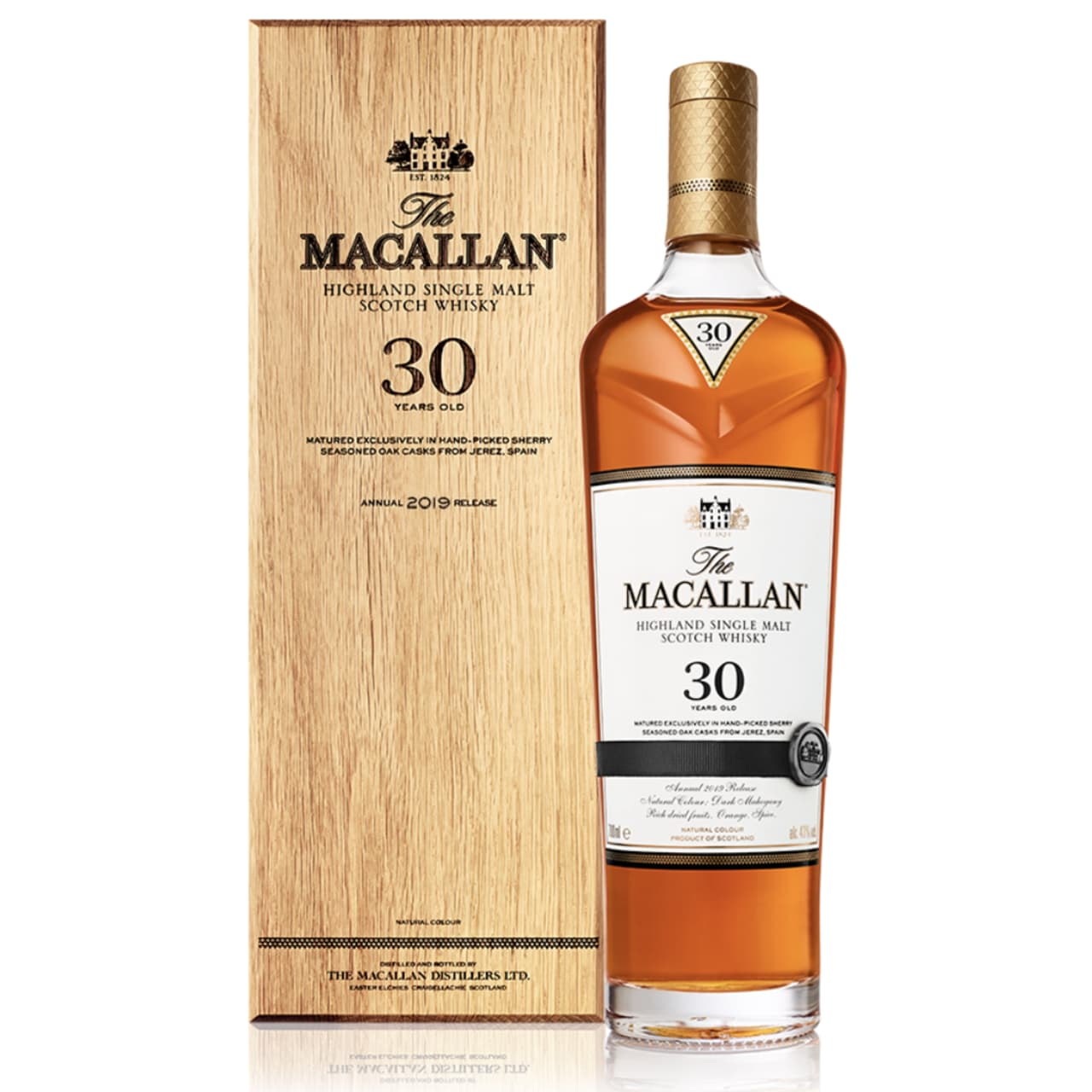 Product Image - The Macallan 30yo Sherry Single Malt