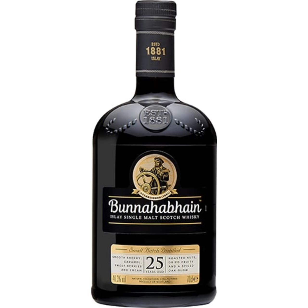 Product Image - Bunnahabhain 25yo Single Malt
