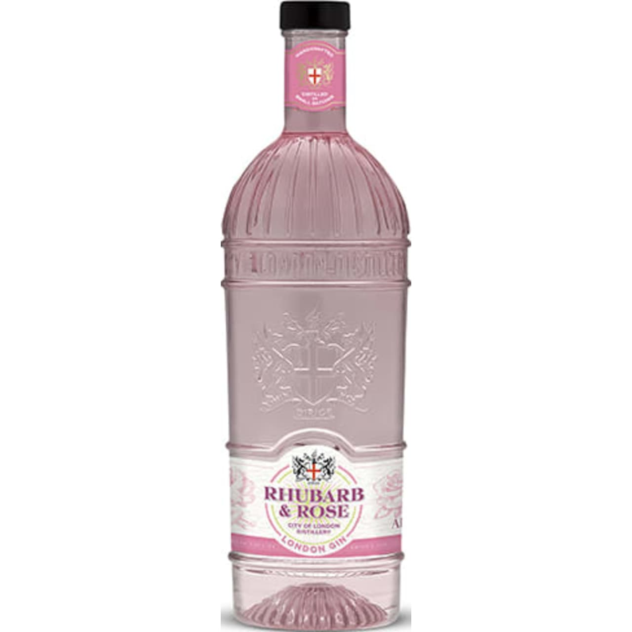 Product Image - City of London Rhubarb & Rose Gin
