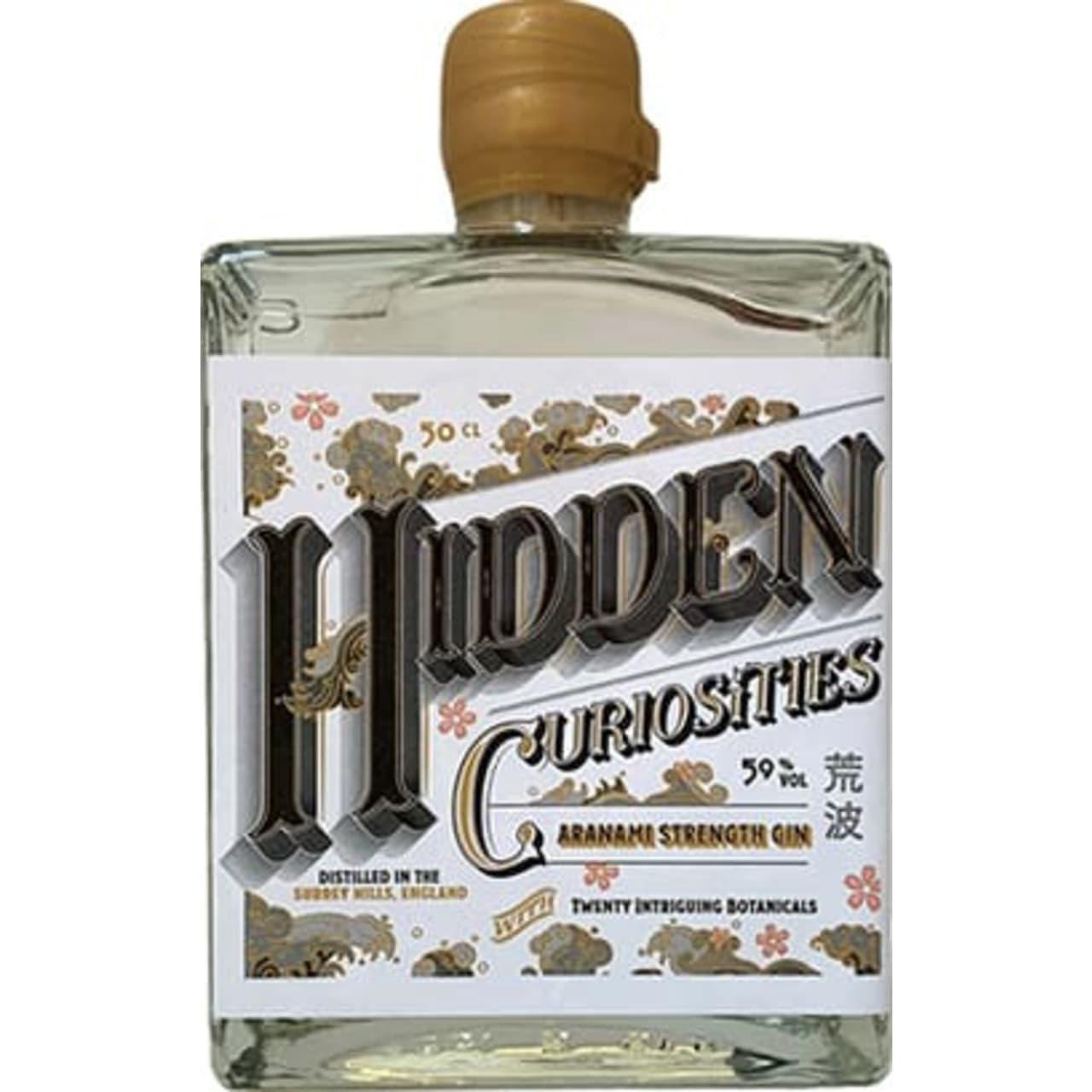 Product Image - Hidden Curiosities Aranami Strength Gin