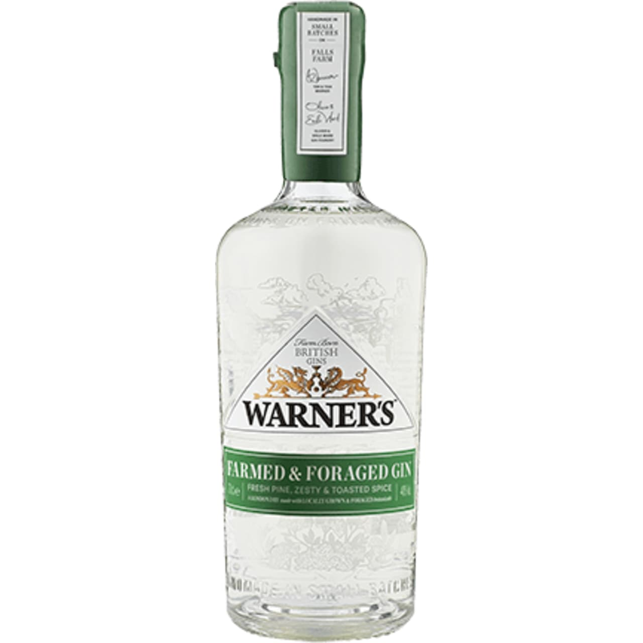 Product Image - Warner's Farmed & Foraged Gin