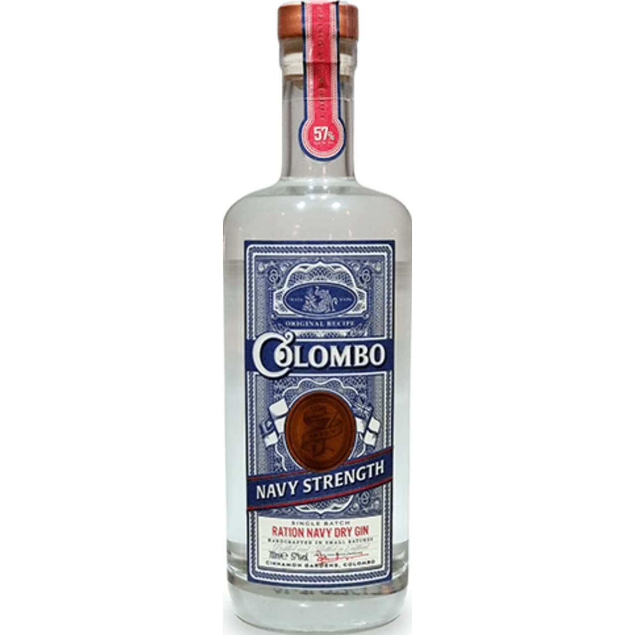 Product Image - Colombo No. 7 Navy Strength Gin