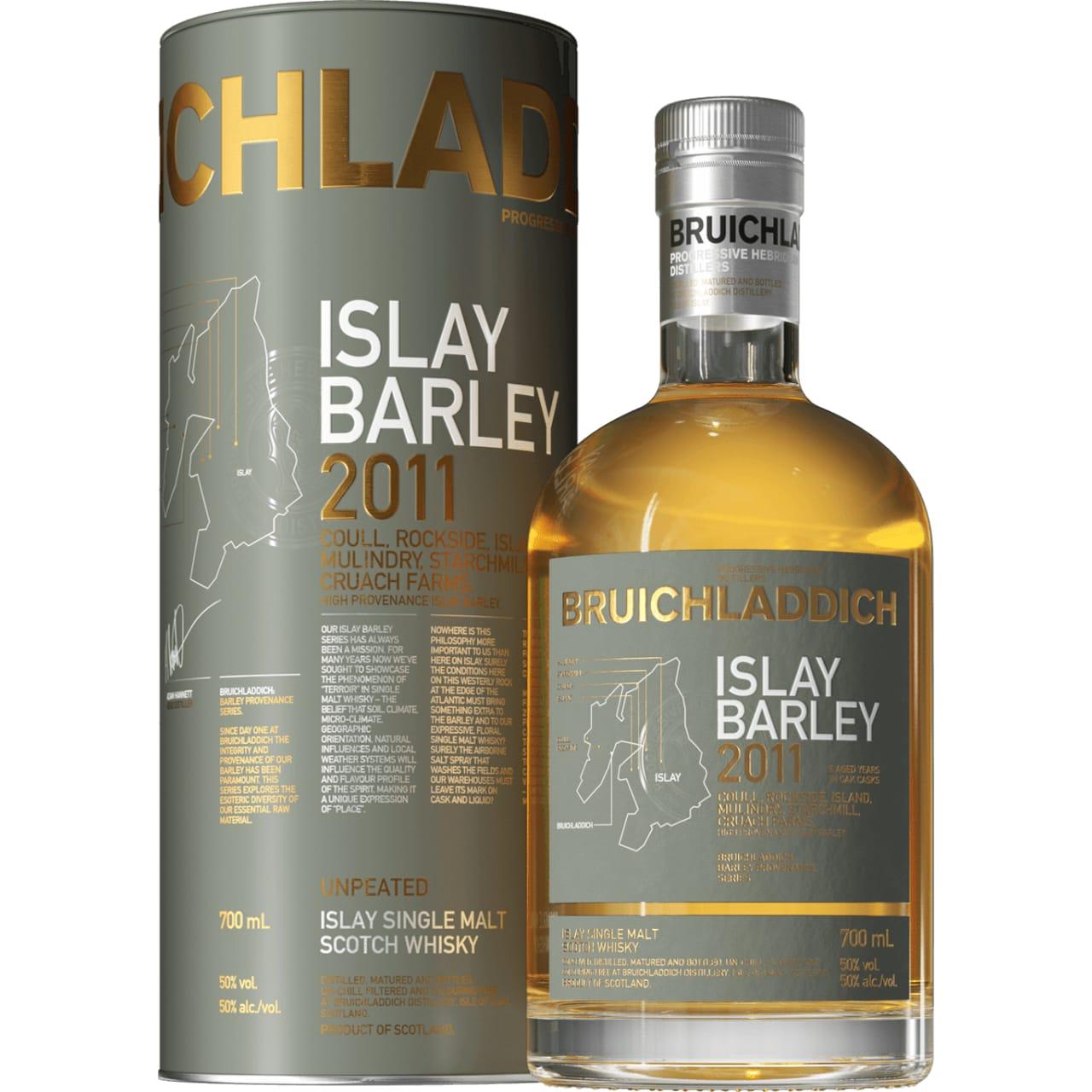 Product Image - Bruichladdich Islay Barley Single Malt