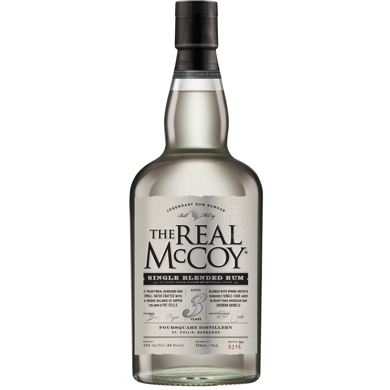 Product Image - The Real McCoy 3yo Rum