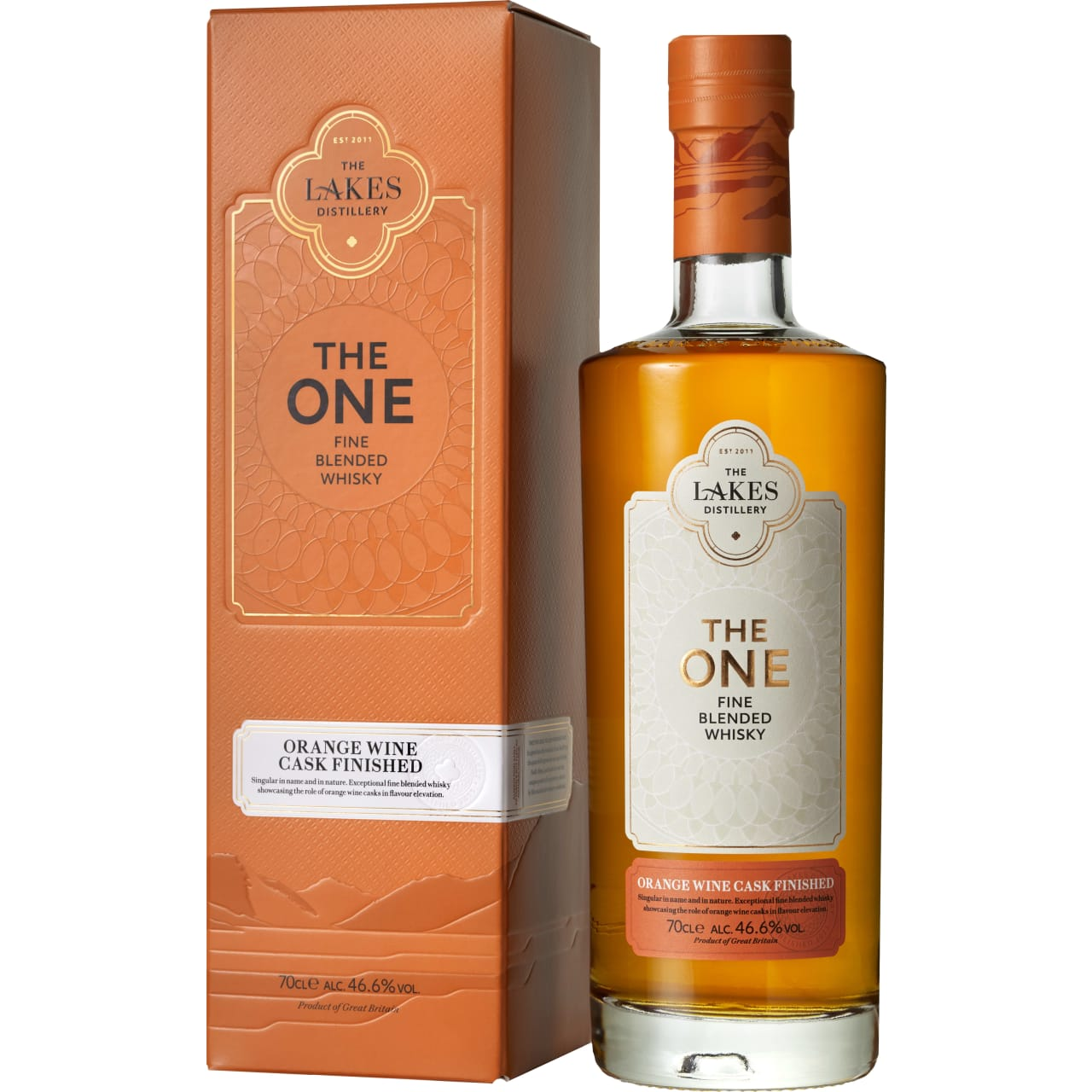 Product Image - The Lakes The One Orange Wine Cask Finish