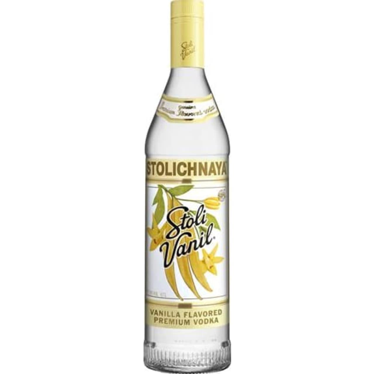 Product Image - Stolichnaya Vanilla Vodka