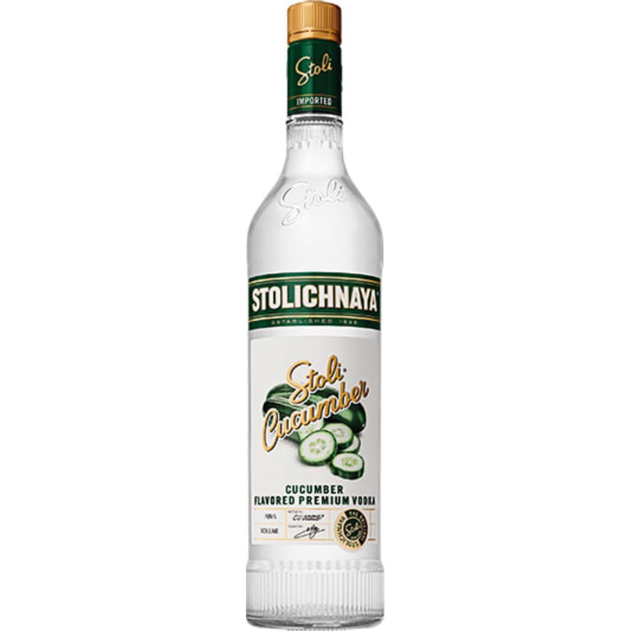 Product Image - Stolichnaya Cucumber Vodka