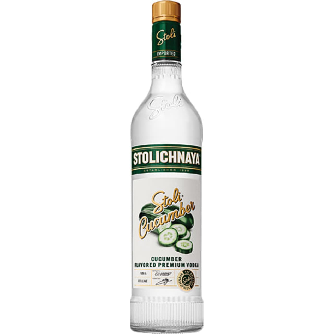 Product Image - Stolichnaya Cucumber Vodka