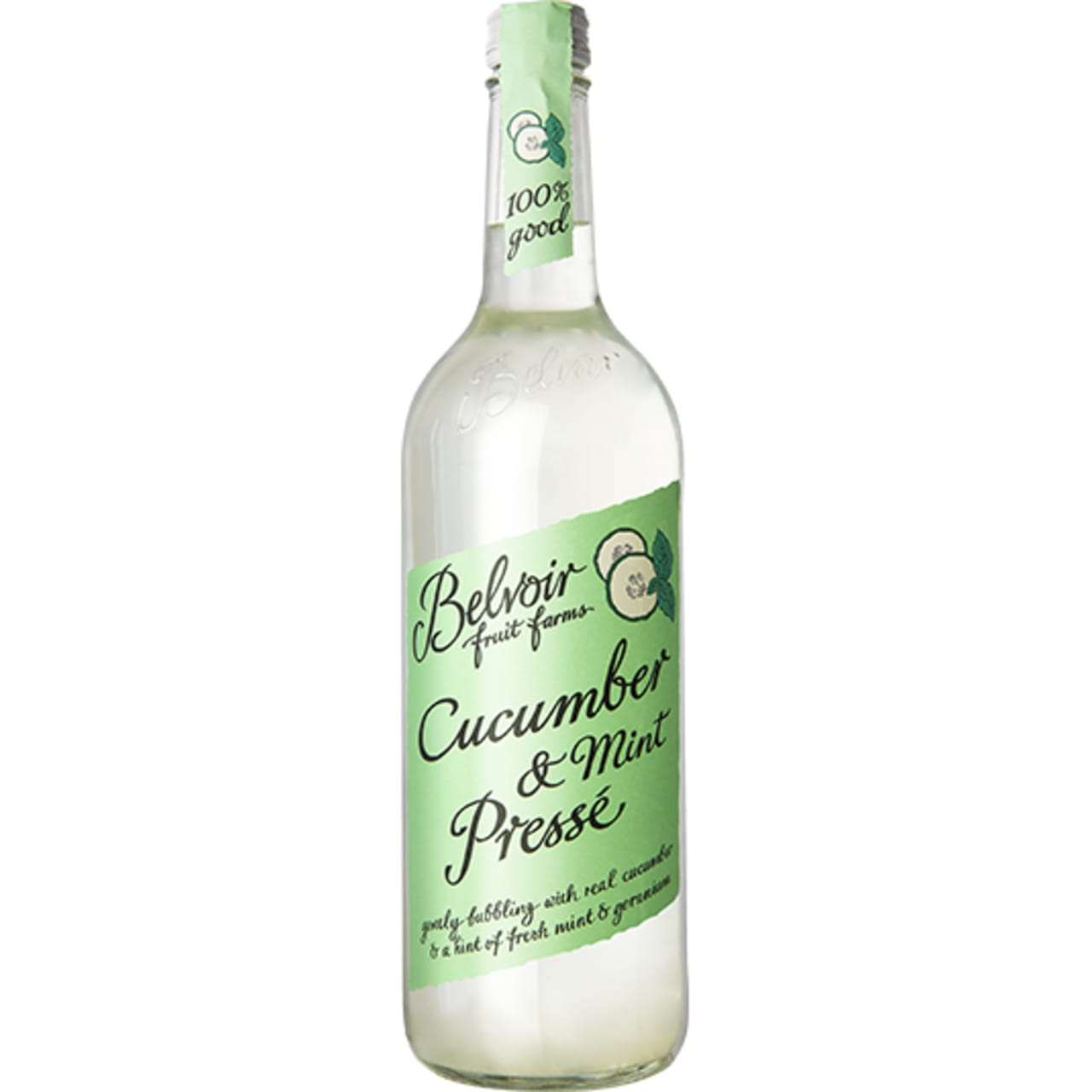 Product Image - Belvoir Fruit Farms Cucumber and Mint Presse
