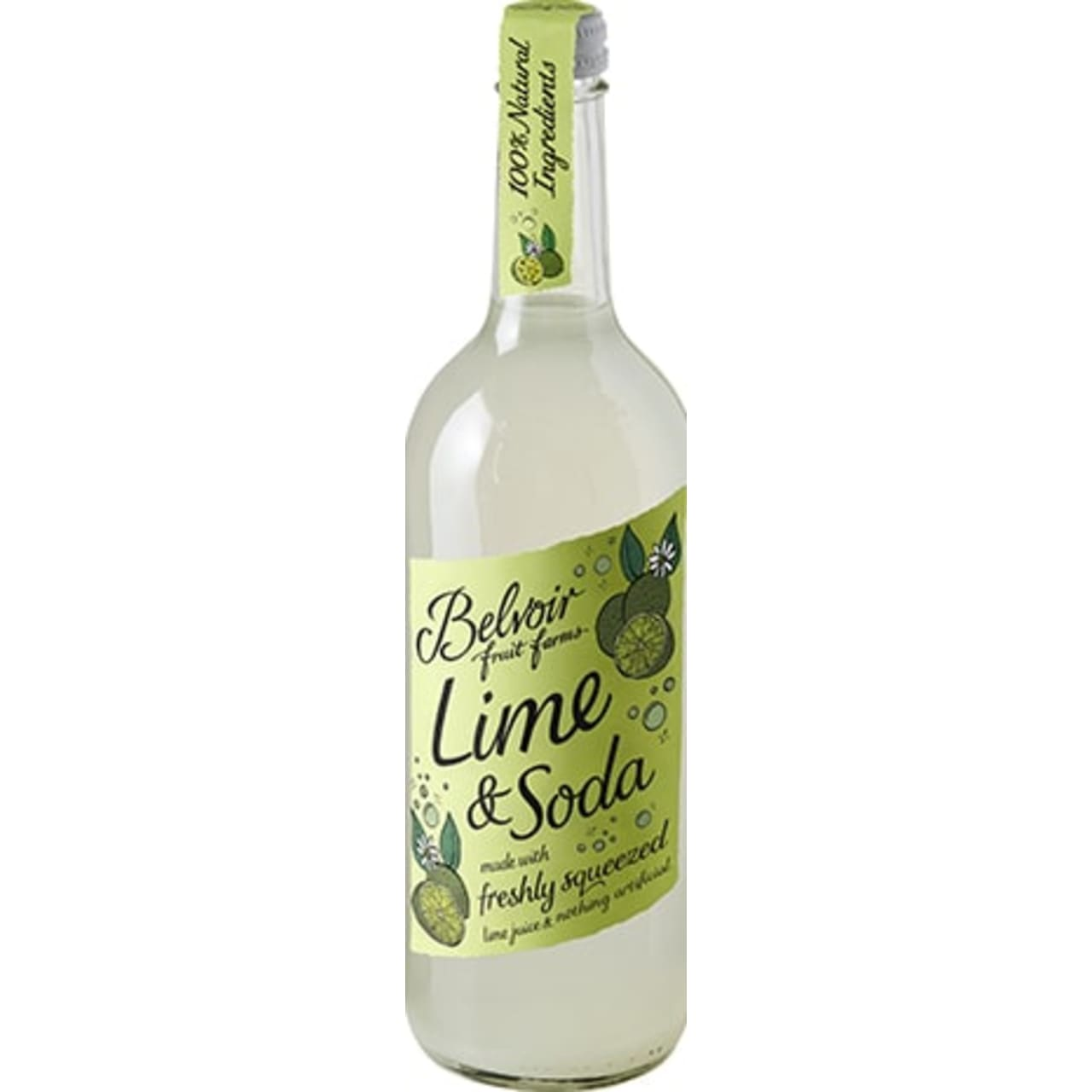 Product Image - Belvoir Freshly Squeezed Lime and Soda