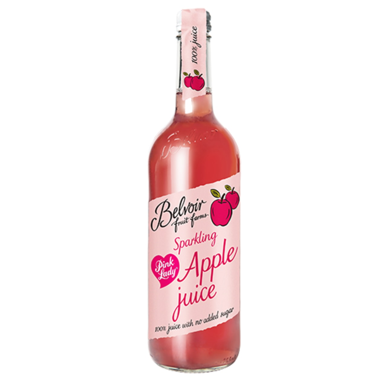 Product Image - Belvoir Pink Lady Sparkling Apple Juice