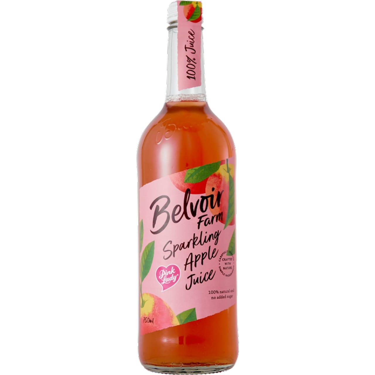 Product Image - Belvoir Pink Lady Sparkling Apple Juice