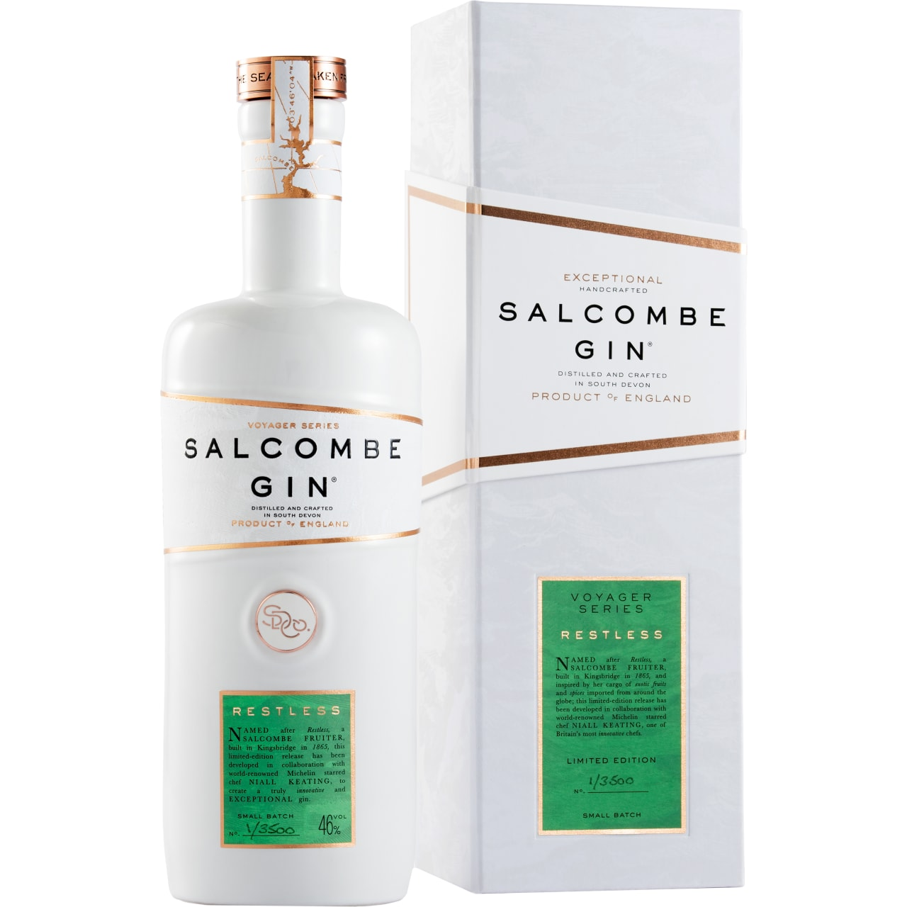 Product Image - Salcombe Voyager Series 'Restless' Gin