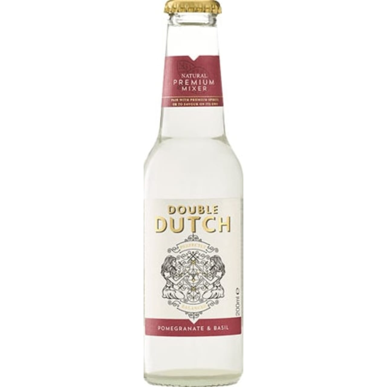 Product Image - Double Dutch Pomegranate and Basil Tonic Pack of 12