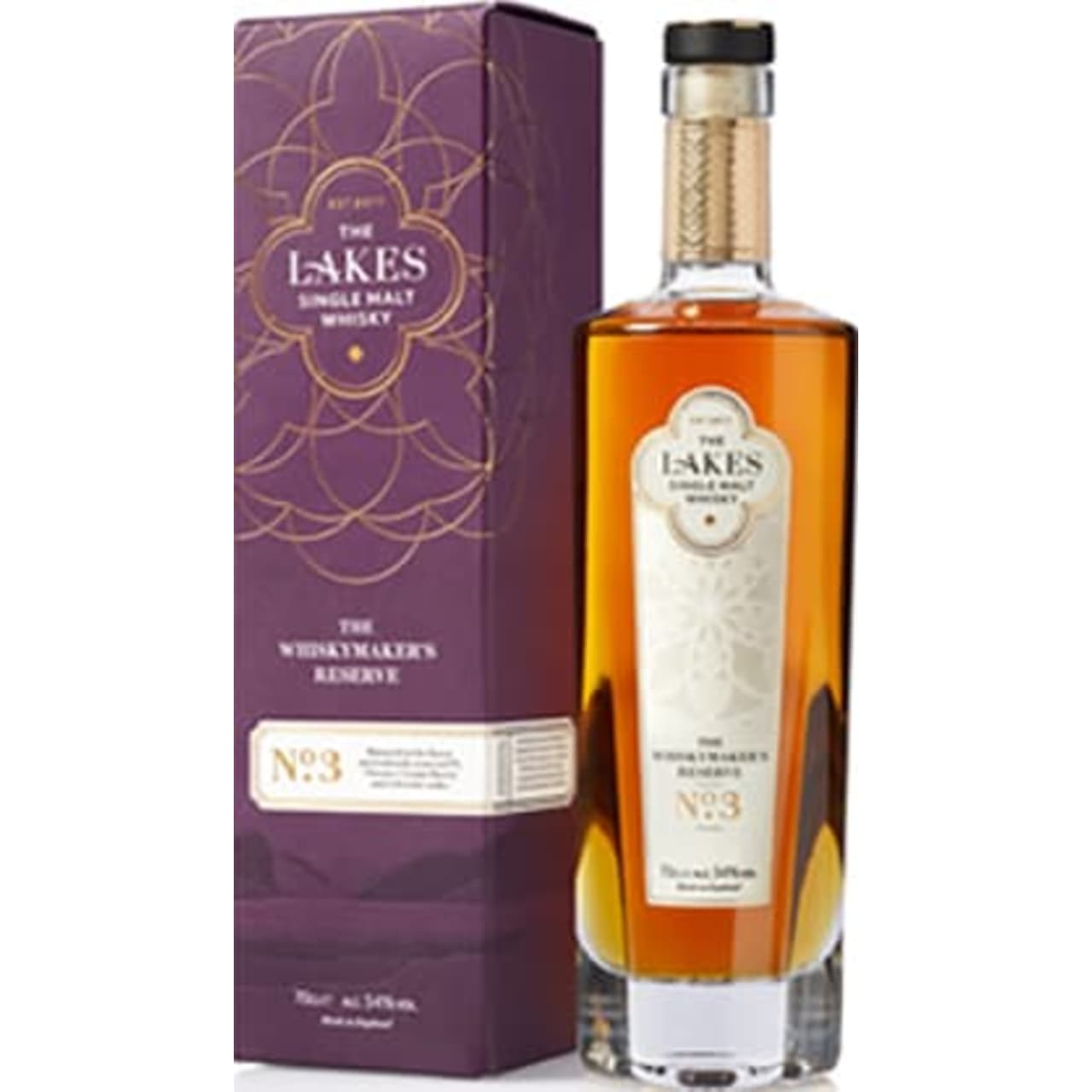 Product Image - The Lakes Single Malt Whiskymaker's Reserve No. 3
