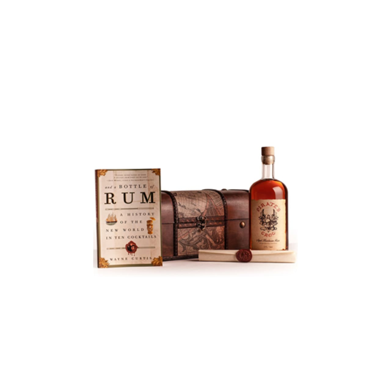Product Image - Pirates Grog 5 YO Rum Chest Gift Pack