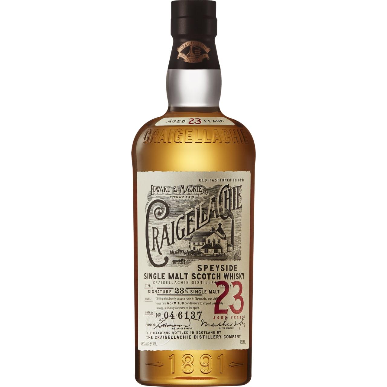Product Image - Craigellachie 23yo Single Malt Whisky