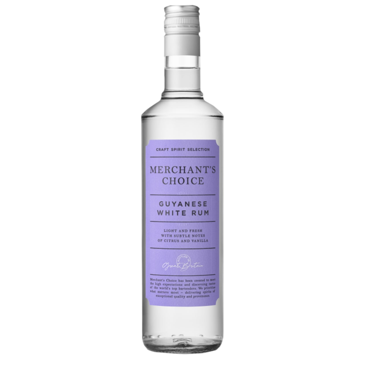 Product Image - Merchants Choice Guyanese White Rum