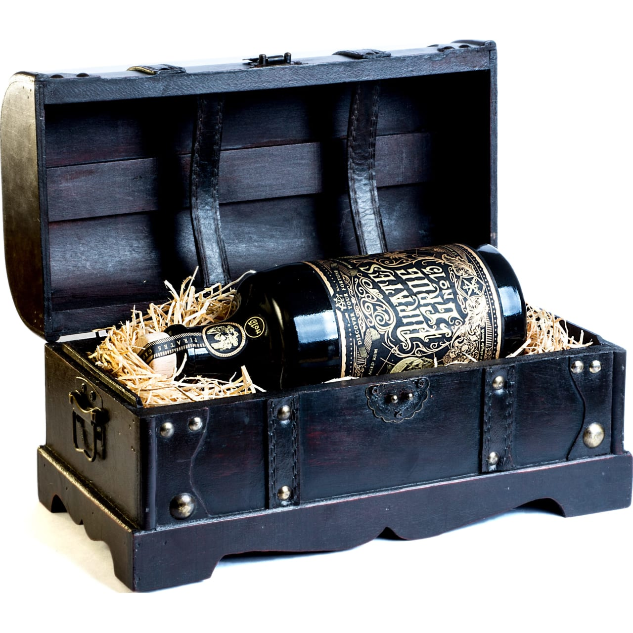 Product Image - Pirates Grog No 13 Rum Chest Gift Pack