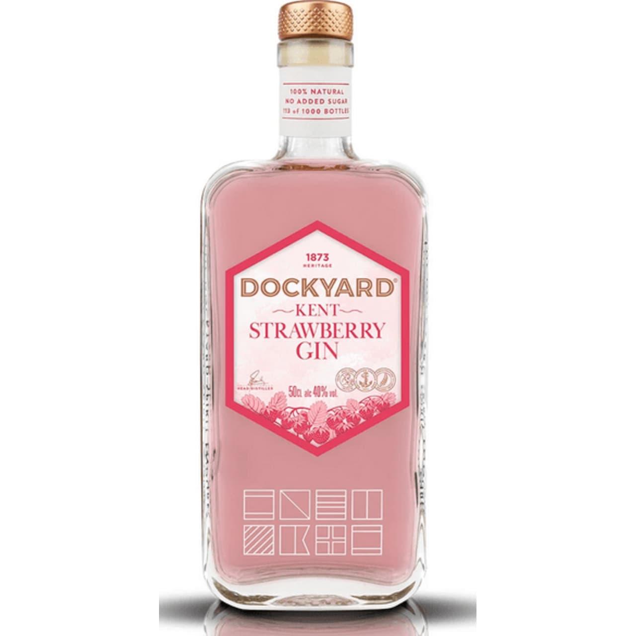 Product Image - Copper Rivet Dockyard Strawberry Gin