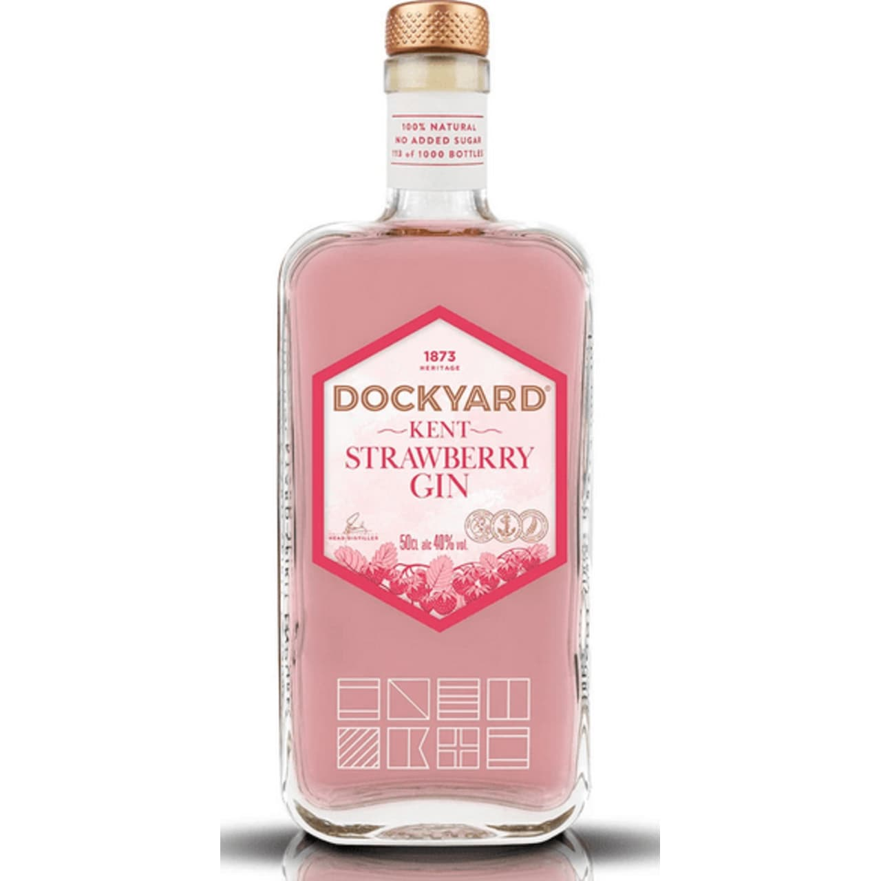 Product Image - Copper Rivet Dockyard Strawberry Gin