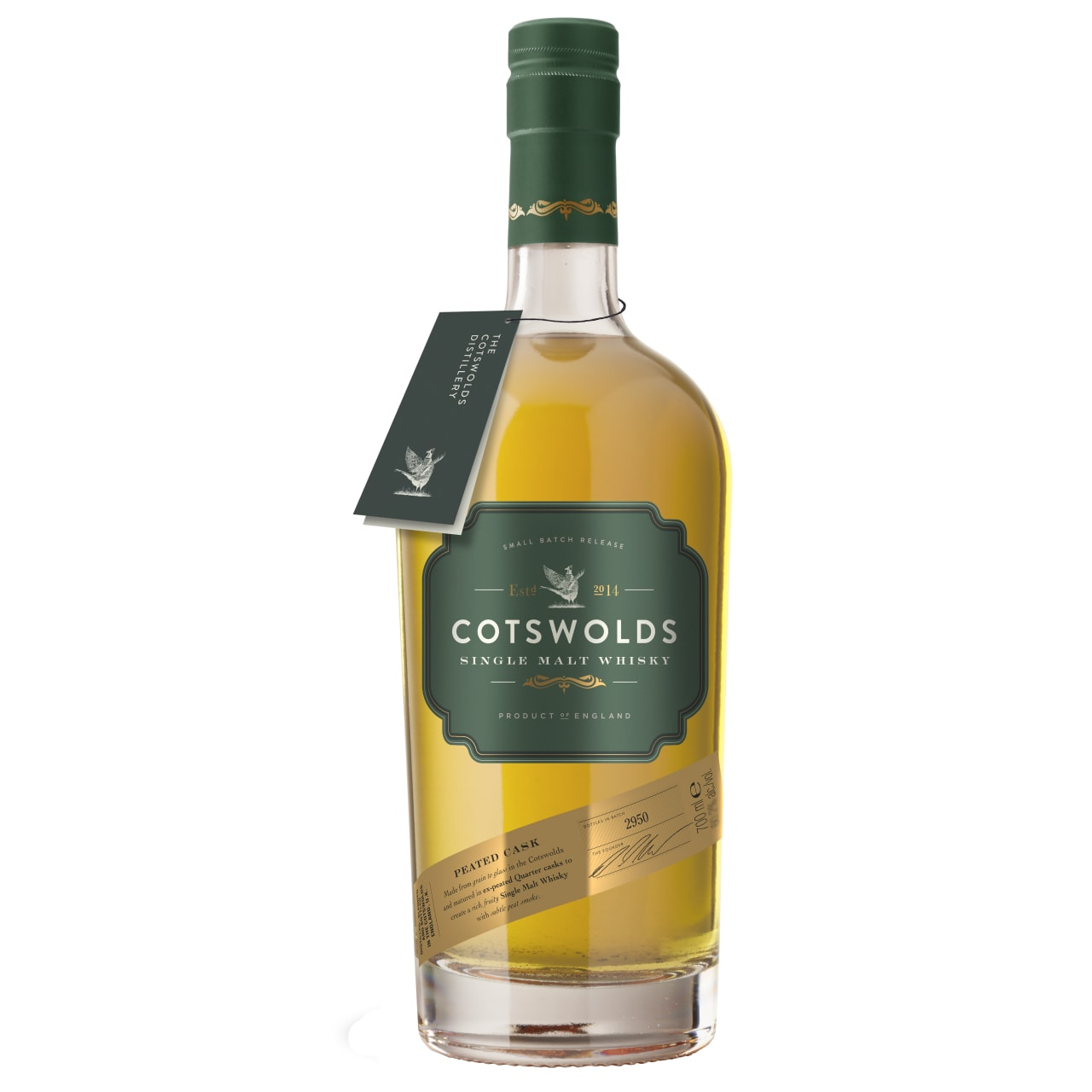 Product Image - Cotswolds Peated Cask Single Malt