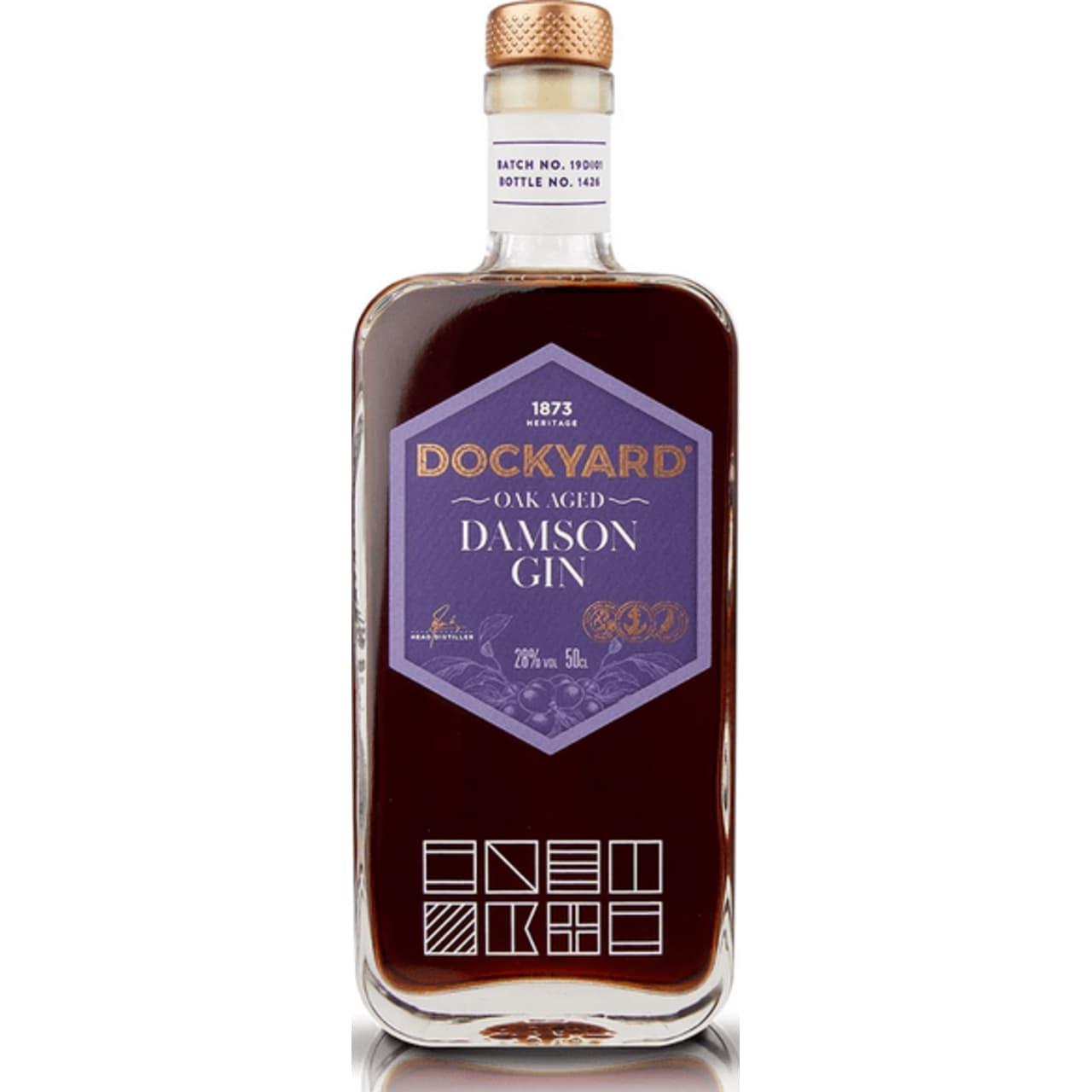 Product Image - Copper Rivet Oak Aged Damson Gin