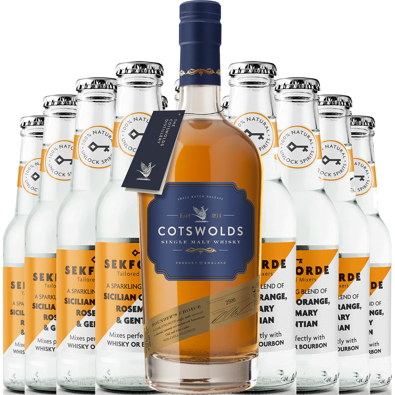 Product Image - Cotswolds Founders Choice Whisky & Sekforde Bundle