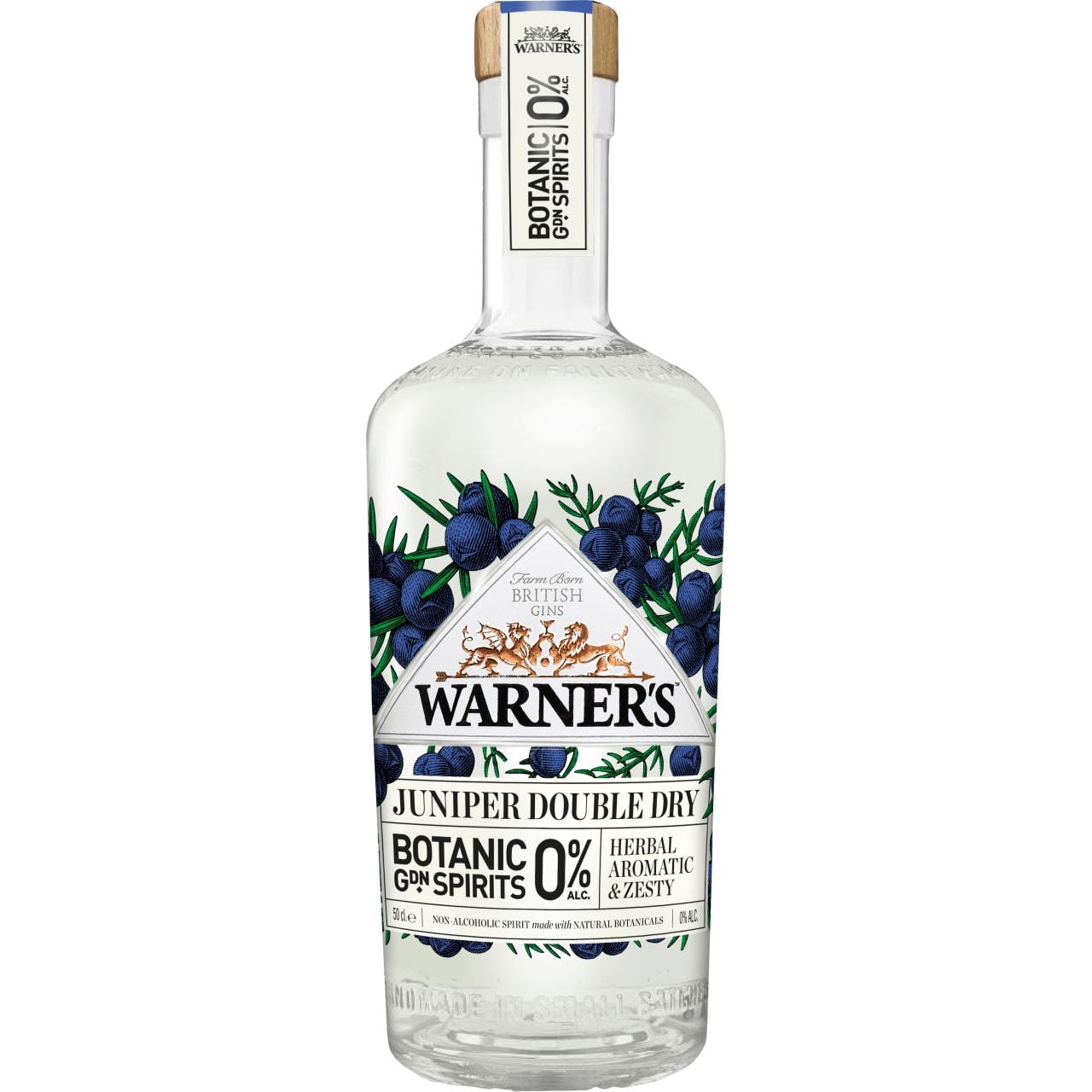 Product Image - Warner's 0% Juniper Double Dry