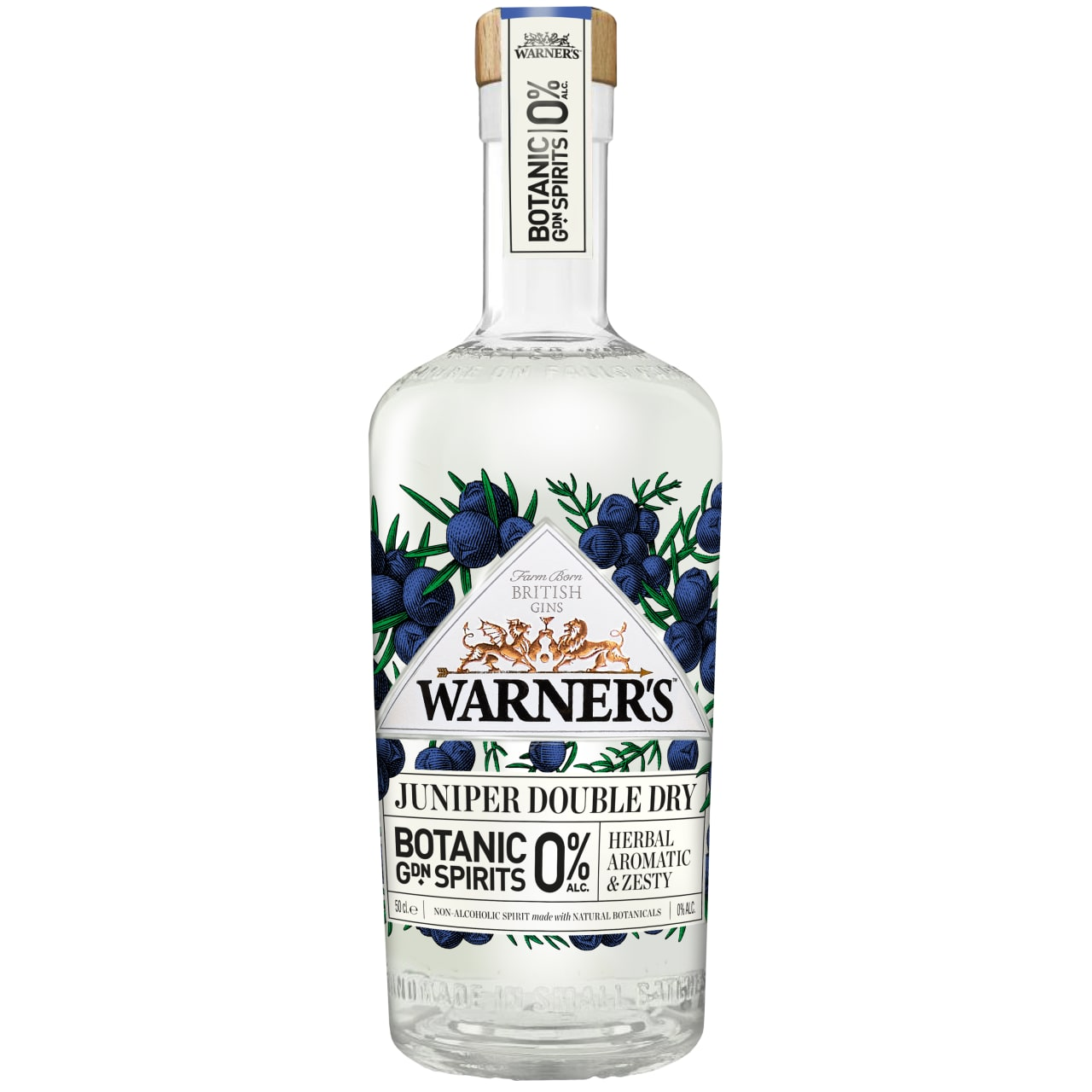 Product Image - Warner's 0% Juniper Double Dry