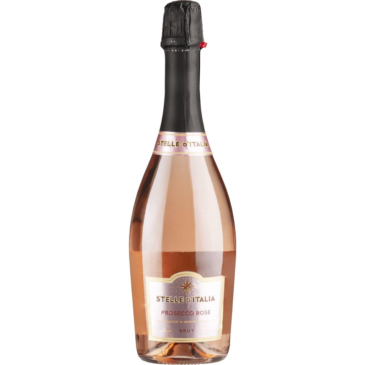 Product Image - Prosecco Rosé DOC, Millesimato Brut 2019, Stelle d'Italia