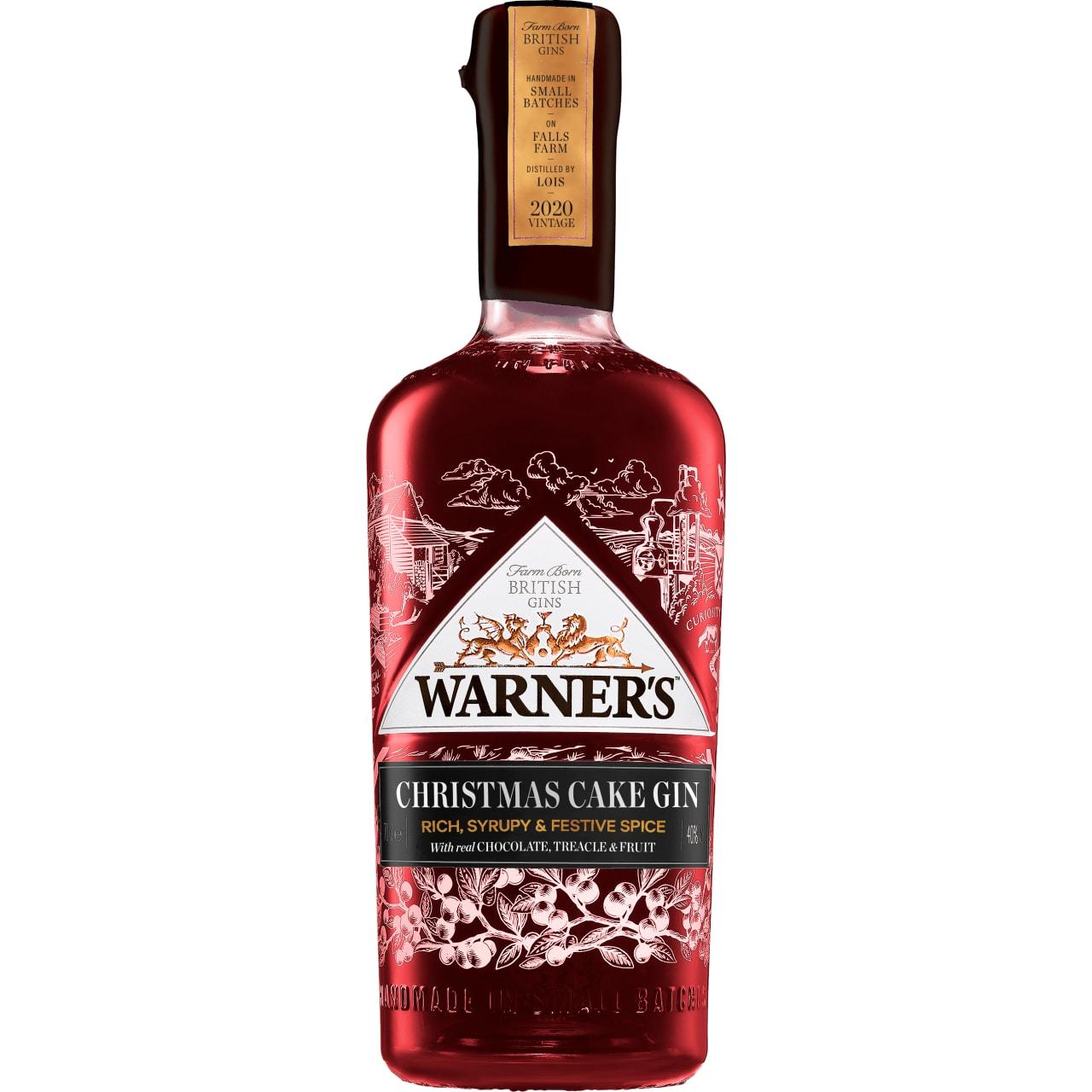 Product Image - Warner's Christmas Cake Gin 2020