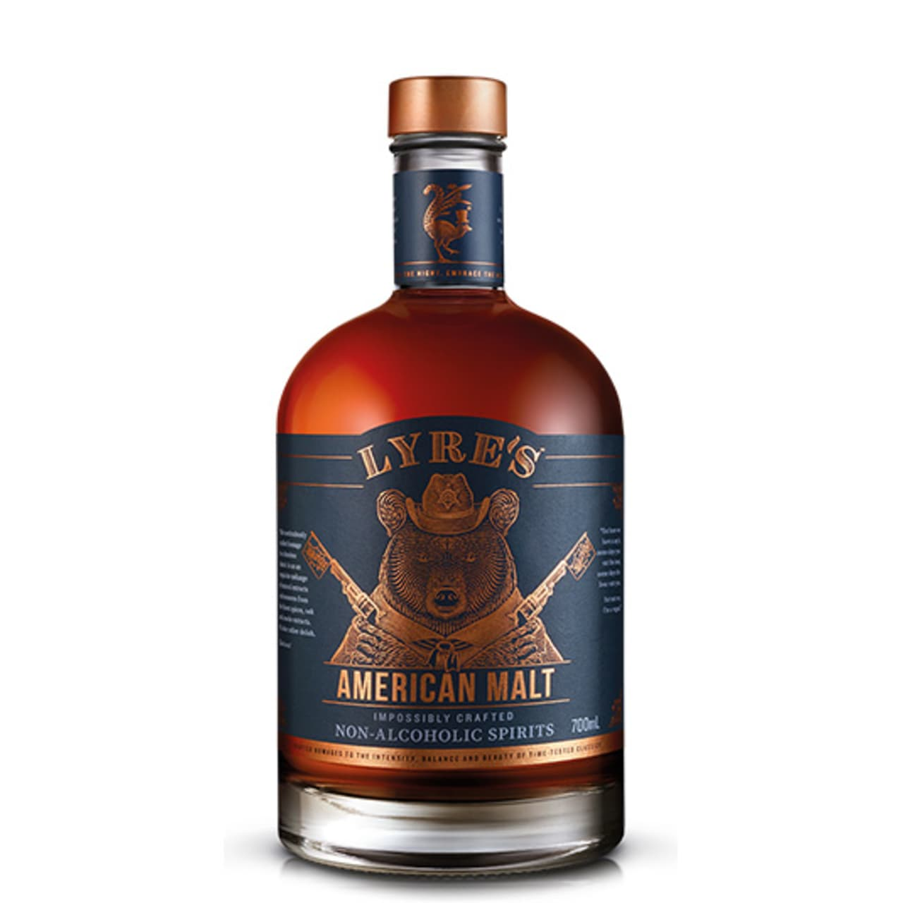 Product Image - Lyres Non Alcoholic American Malt