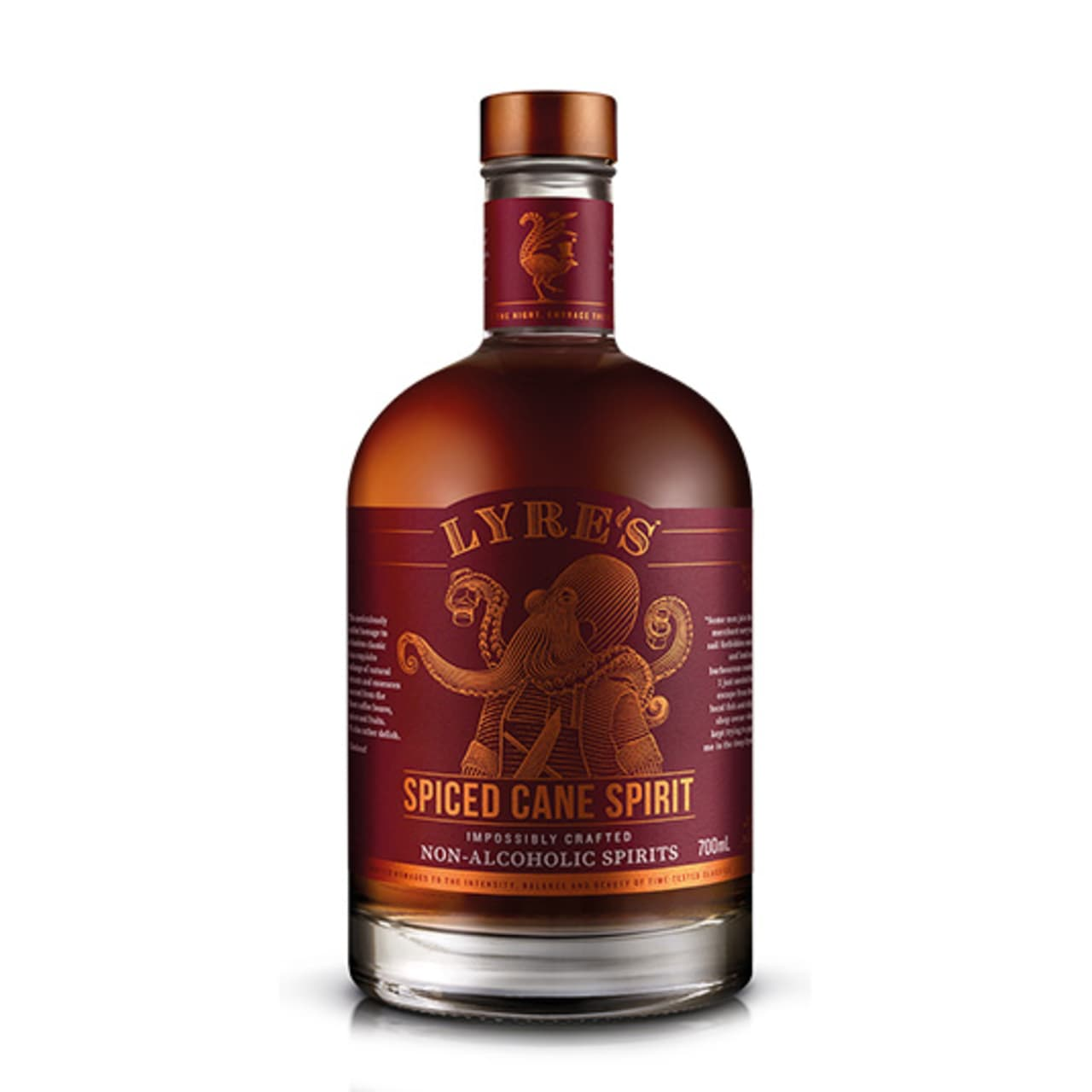 Product Image - Lyres Non Alcoholic Spiced Cane Spirit
