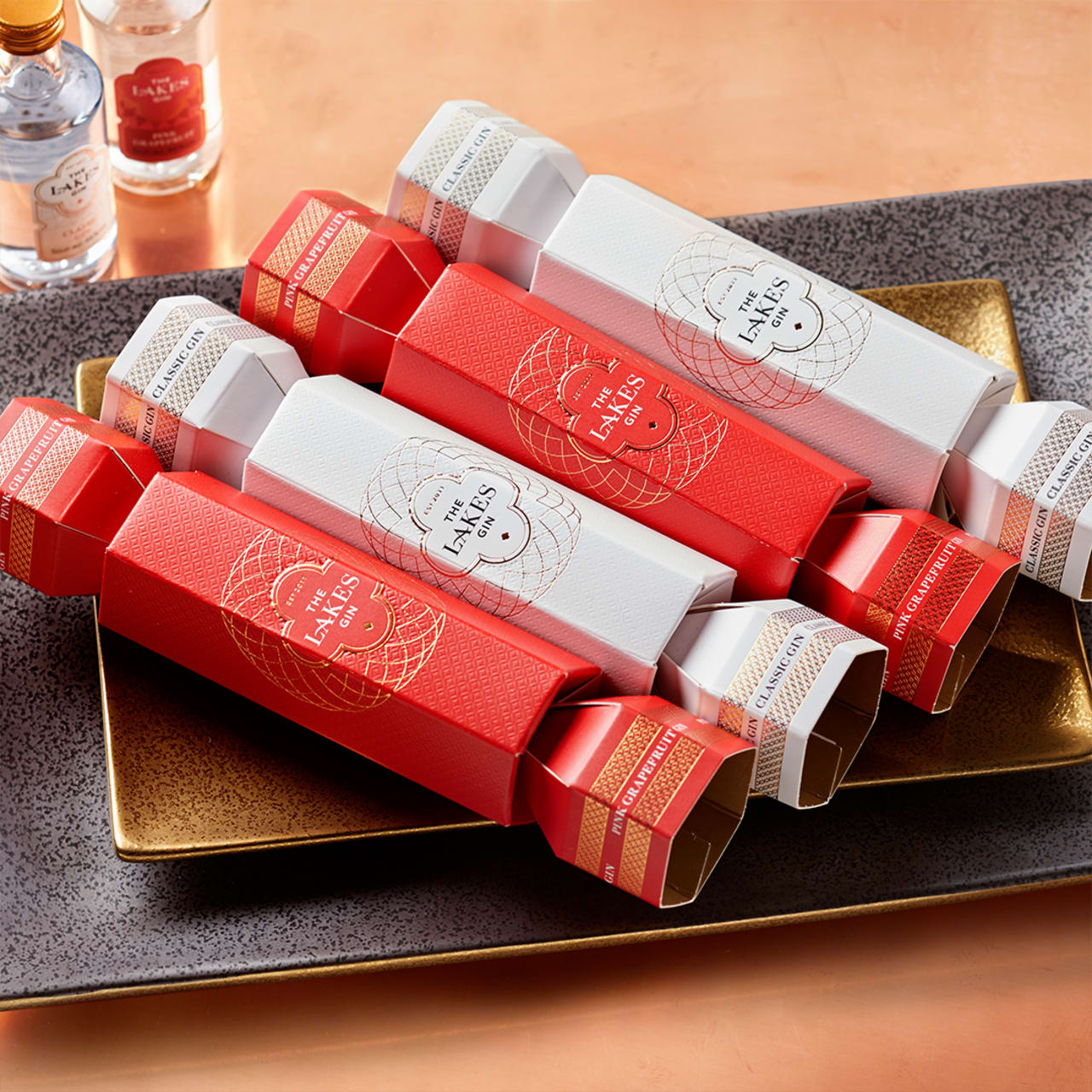 Product Image - The Lakes 4 Pack Gin Cracker Collection